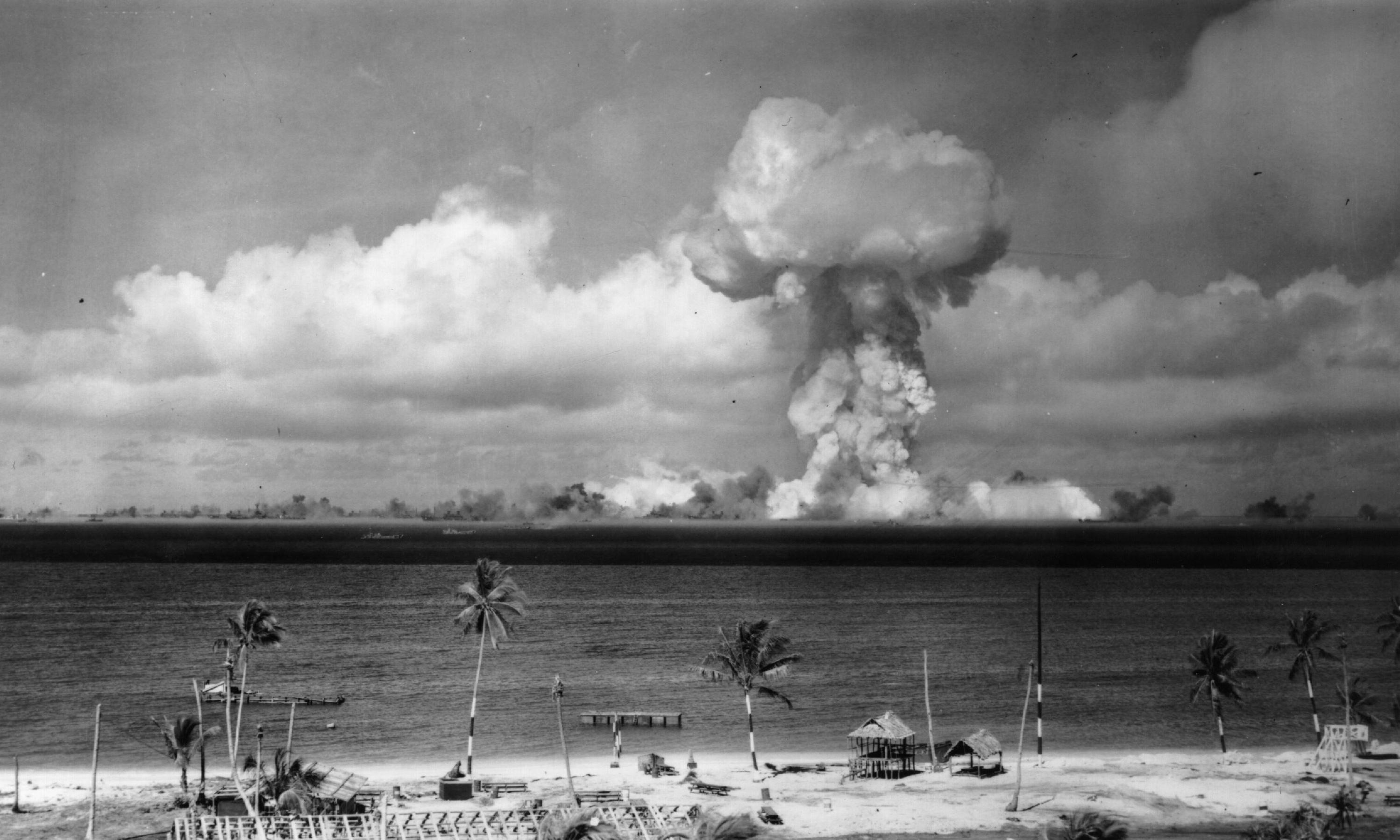 US astounded at magnitude of Bikini Atoll explosion – archive, 26 March 1954