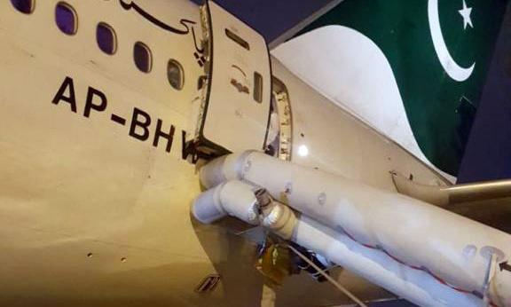 Flight delayed after passenger mistakes exit for toilet door