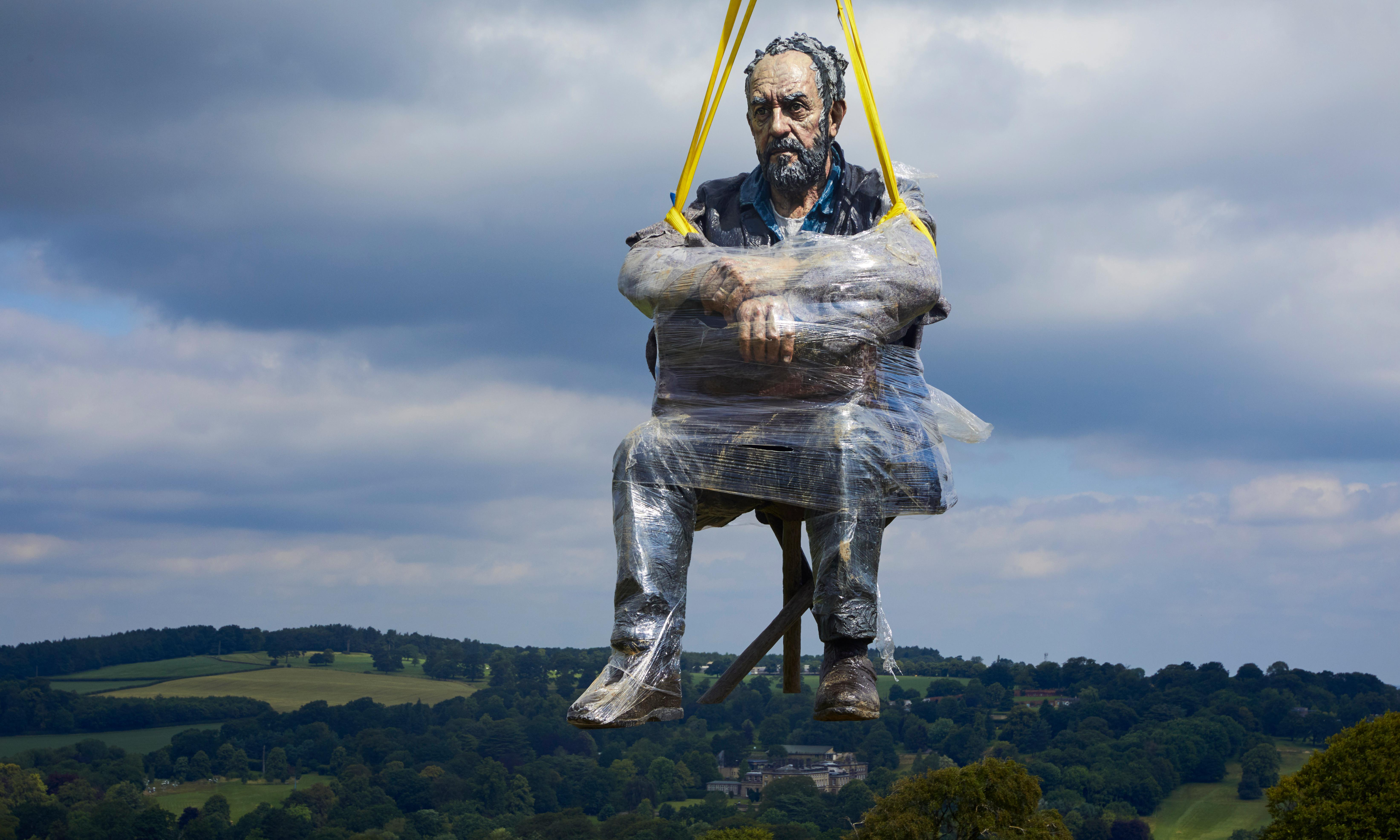 North York Moors statue moved because it was 'too popular'