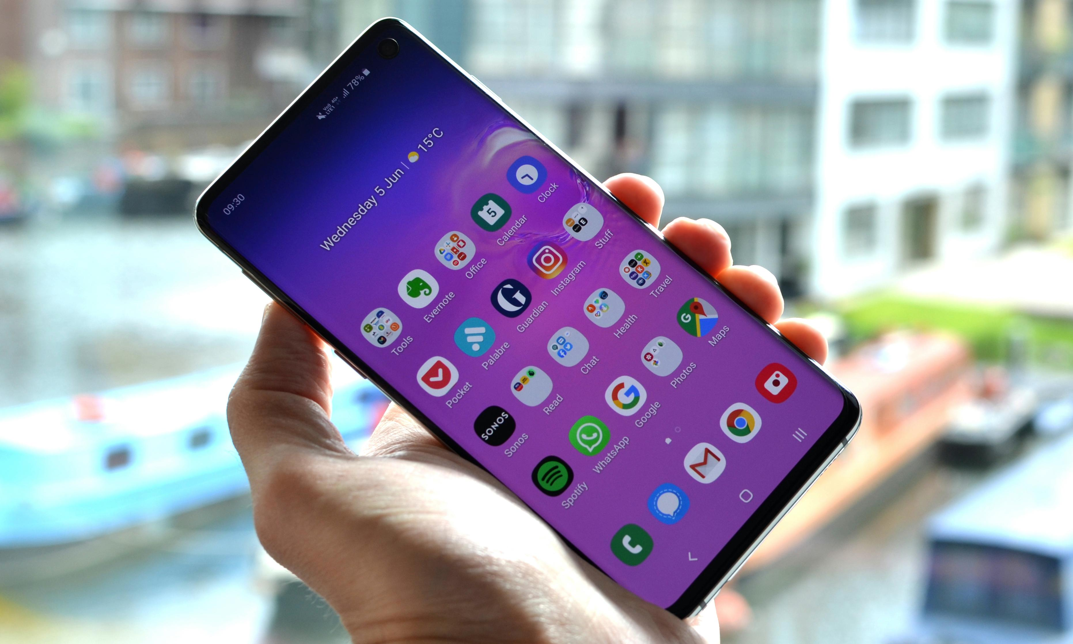 Samsung Galaxy S10 review: the sweet spot