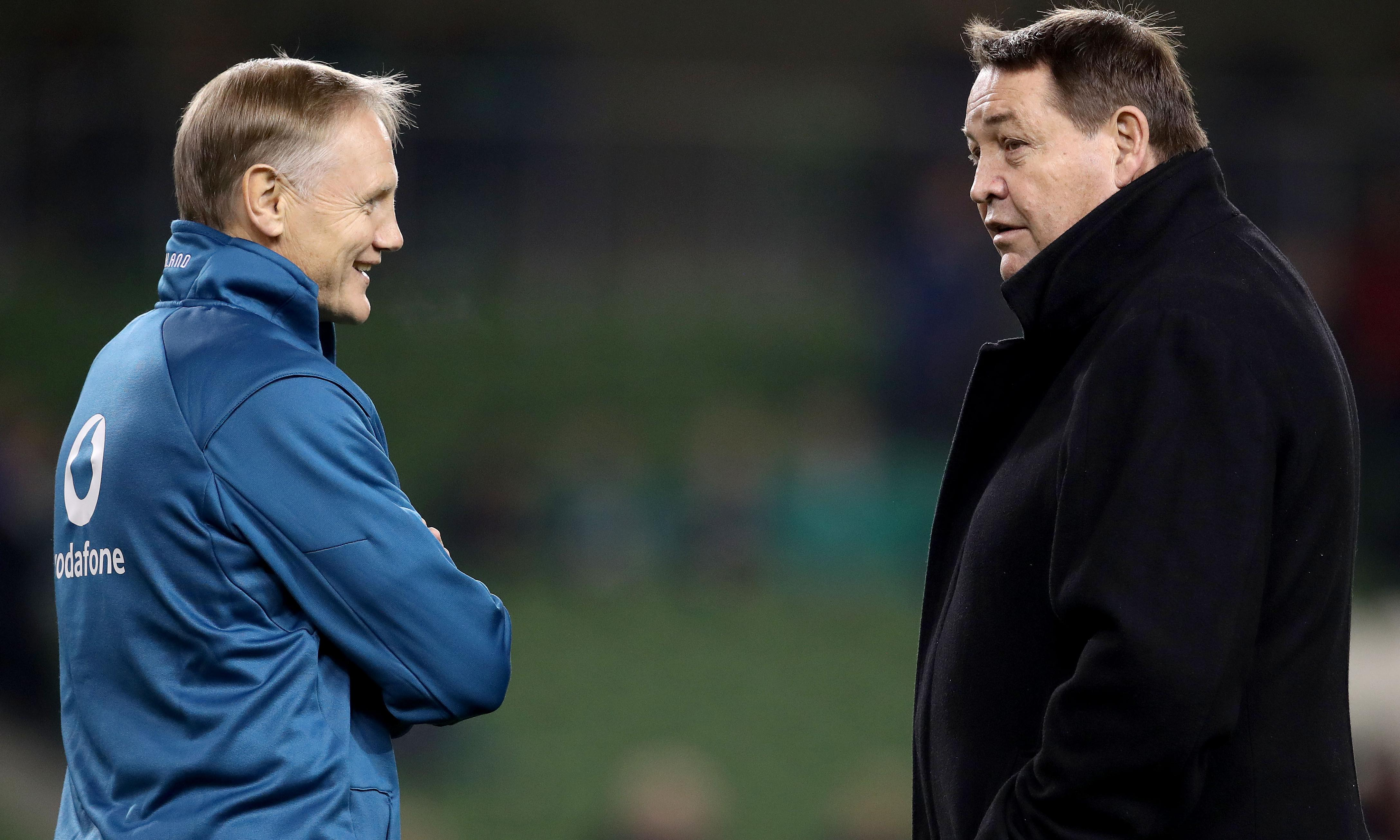 Steve Hansen decision could lead to Ireland's Joe Schmidt joining All Blacks