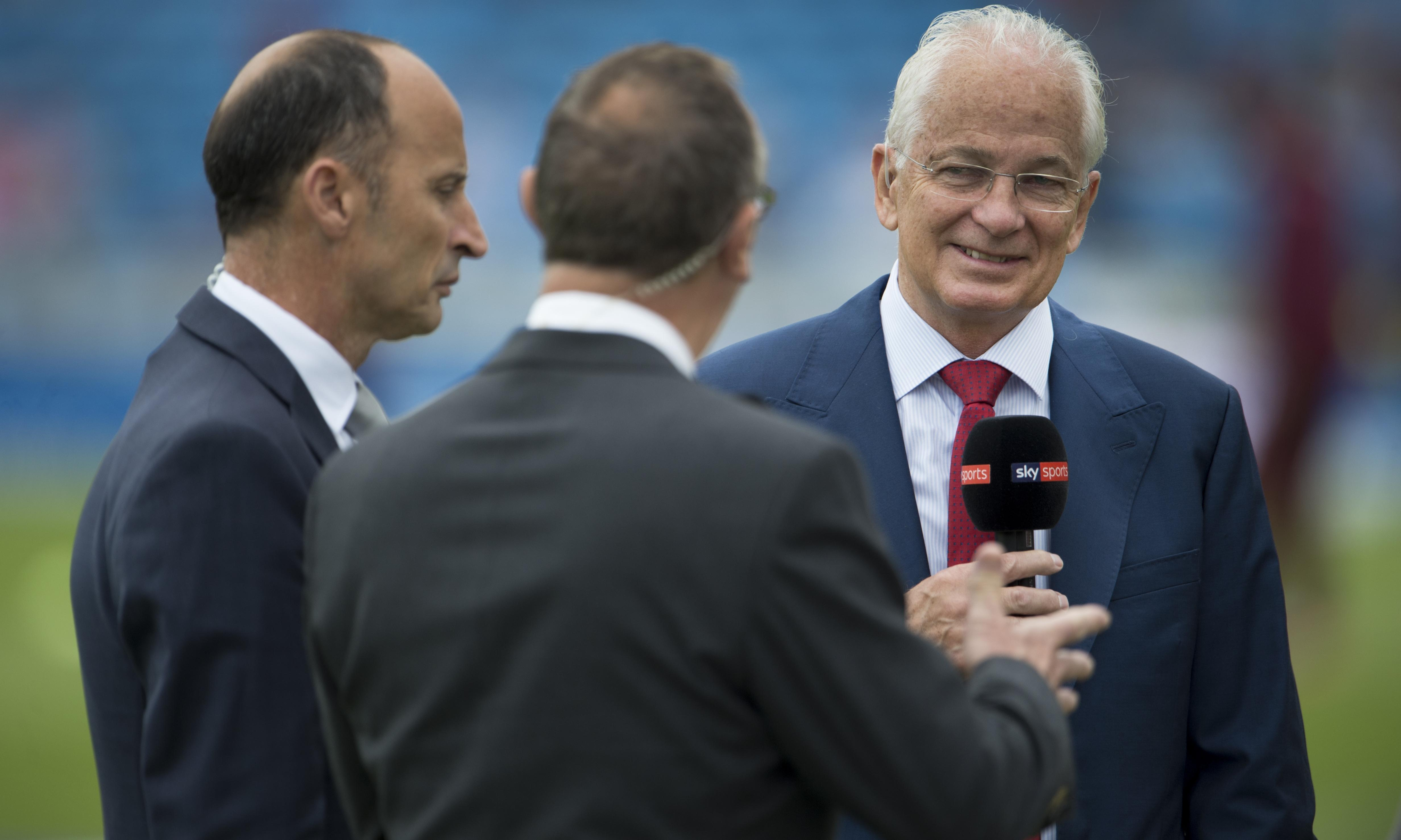 David Gower was always so welcoming to viewers but he now faces long goodbye