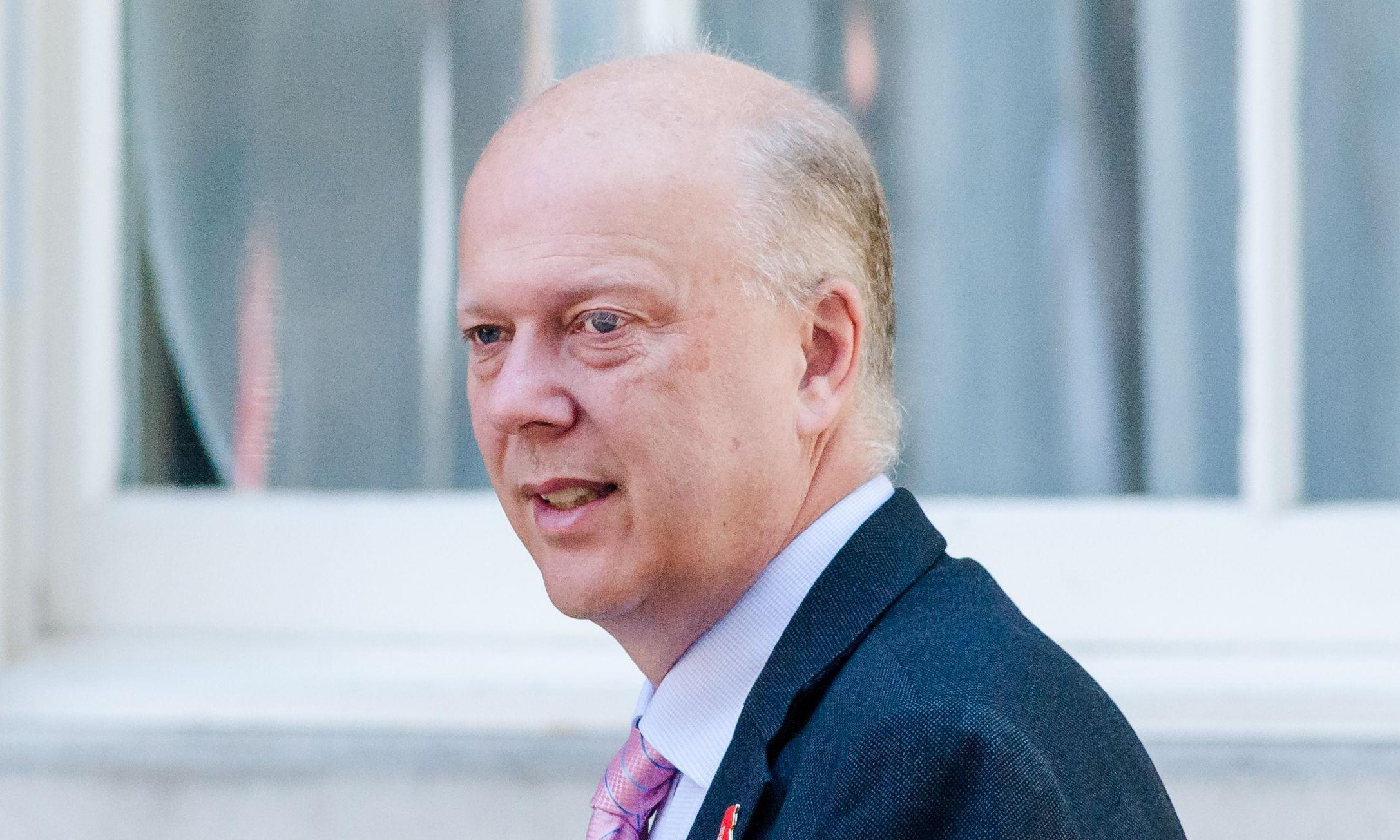 Exit Failing Grayling: the £3bn master of disaster bows out