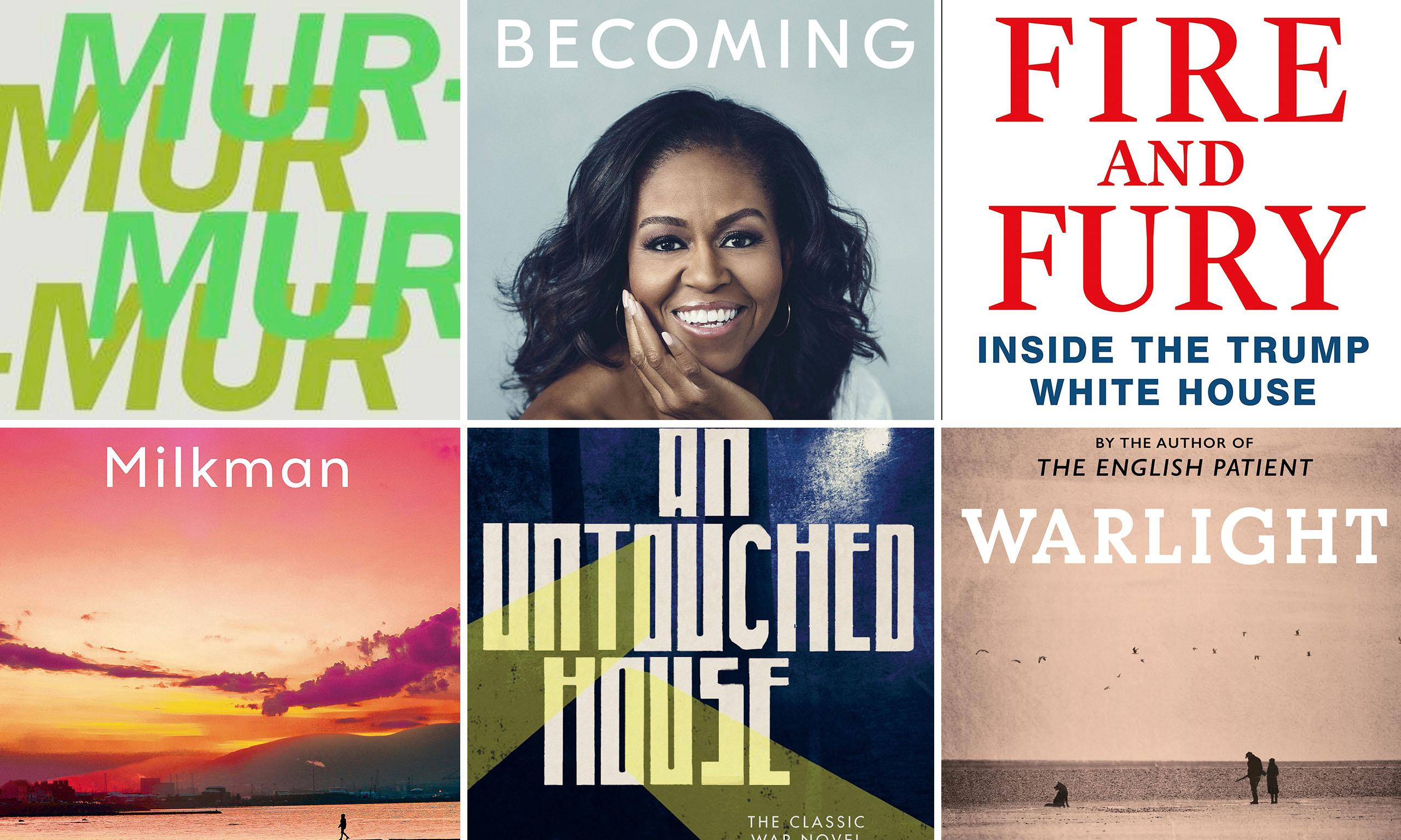 Choose your book of 2018 for us to read this December