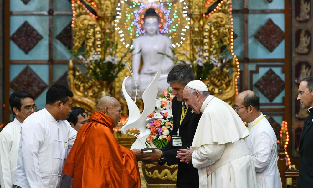 Pope Francis in Yangon
