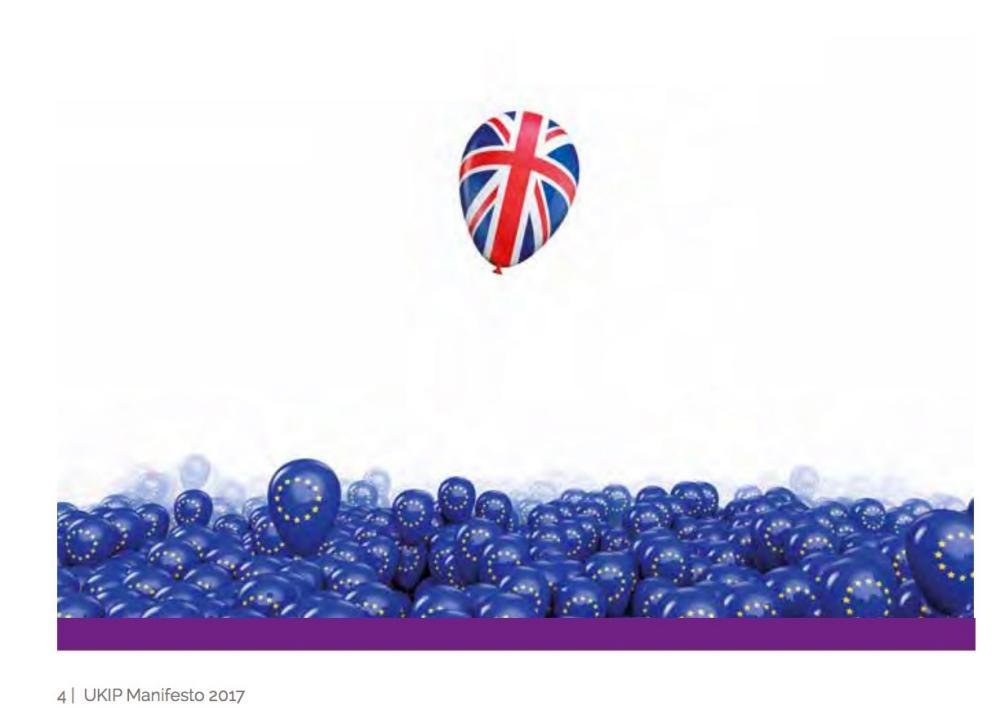 The balloon image from the Ukip manifesto.