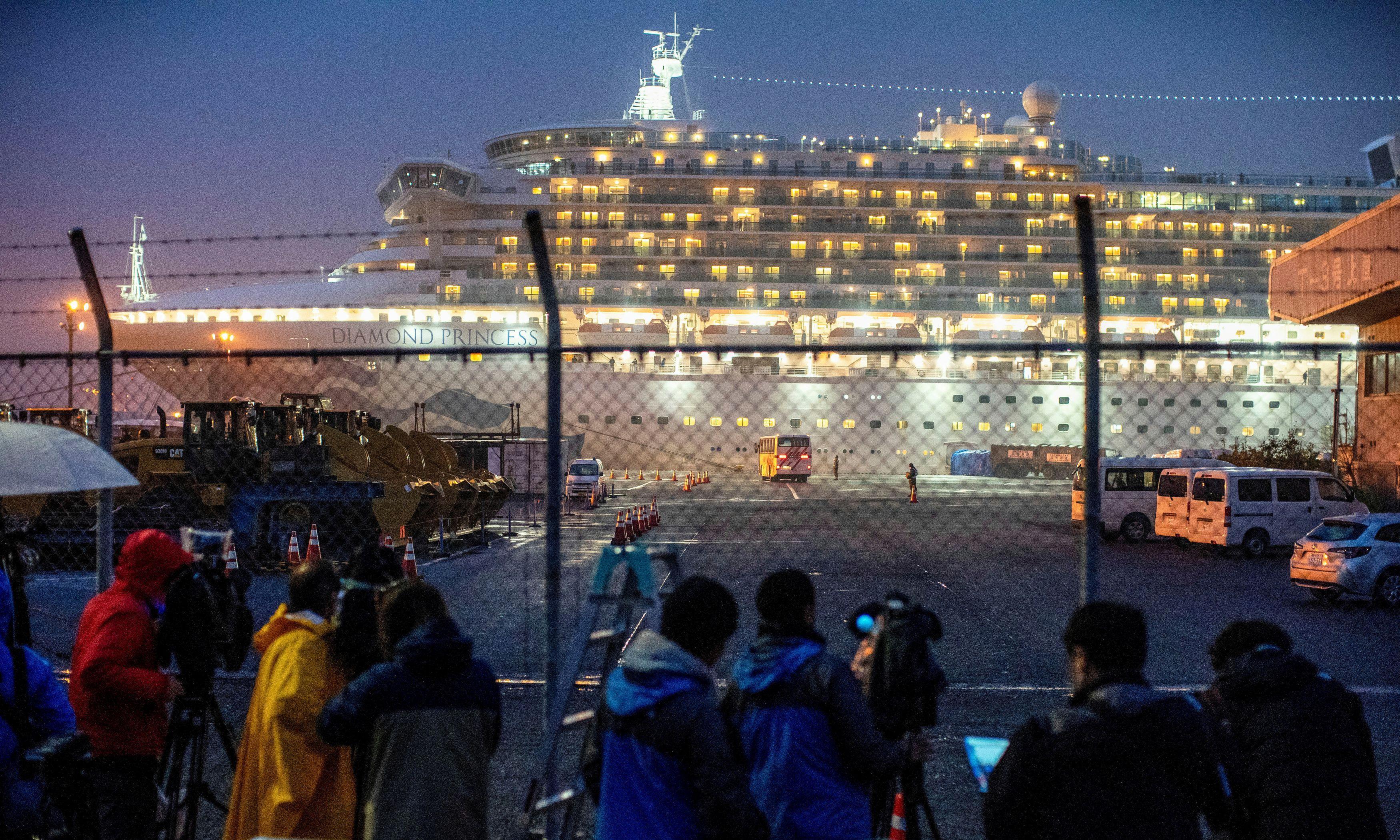 Coronavirus: Australia devising plan to evacuate citizens on board cruise ship