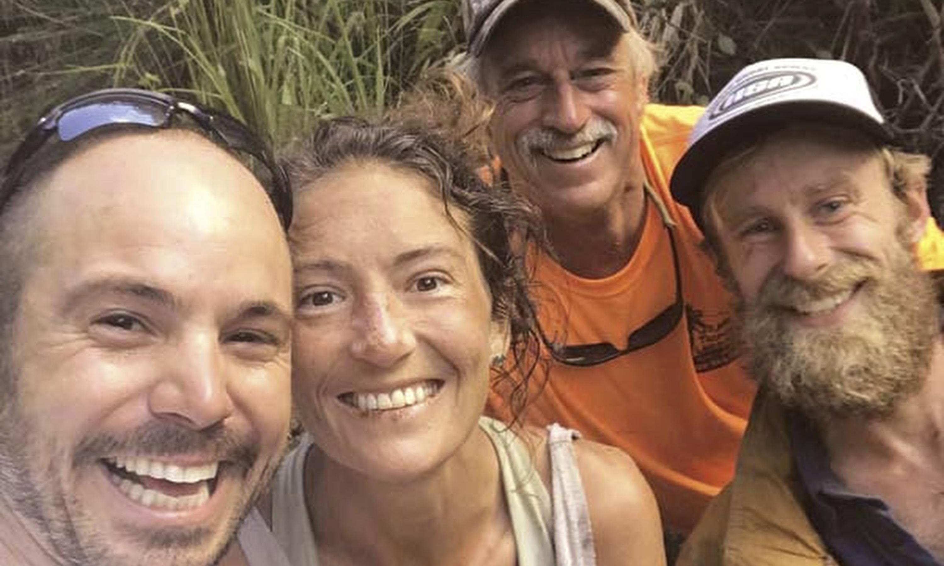 Woman found alive in Hawaii forest says she struggled not to give up