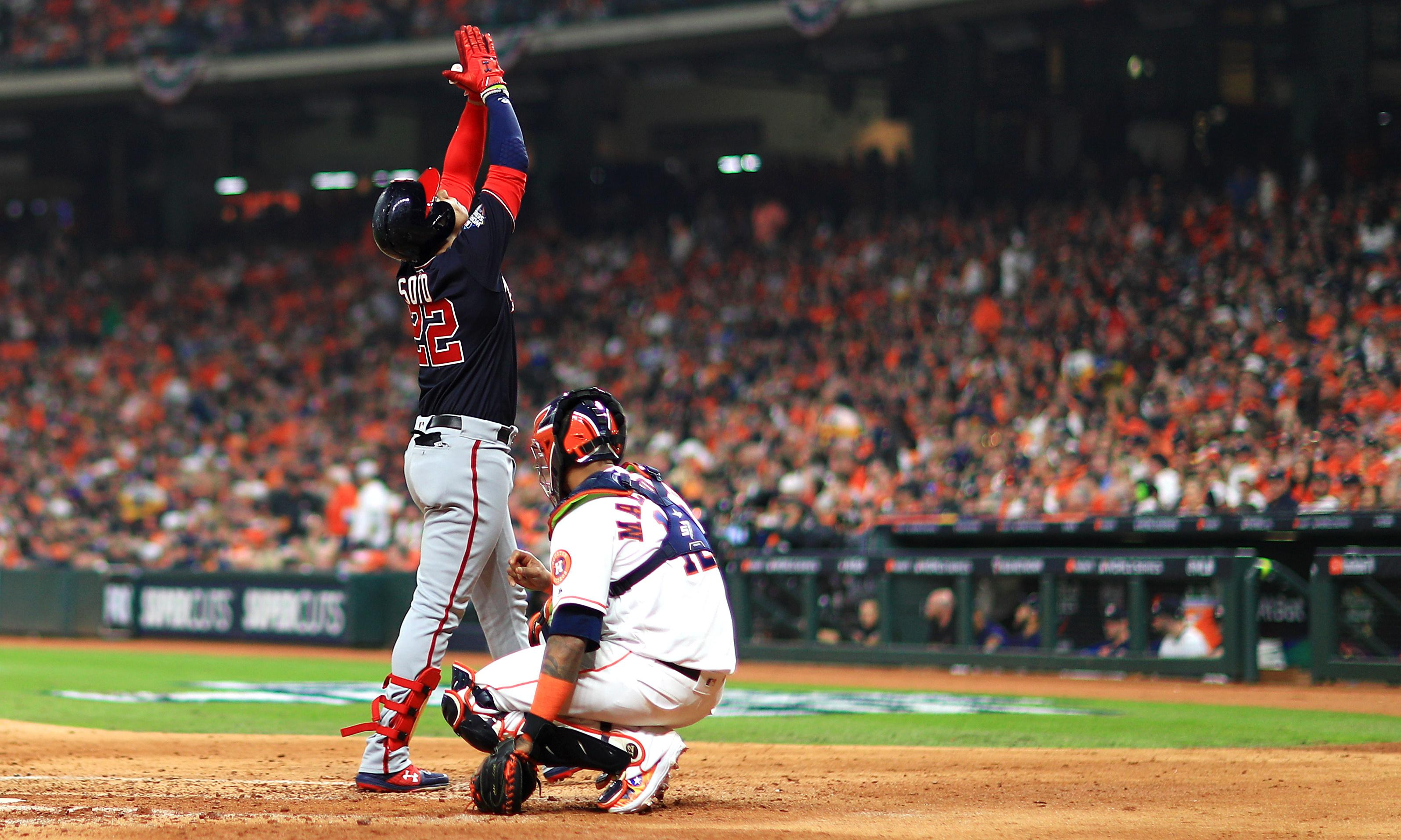 Astros lose World Series opener to Nats after sordid week off the field