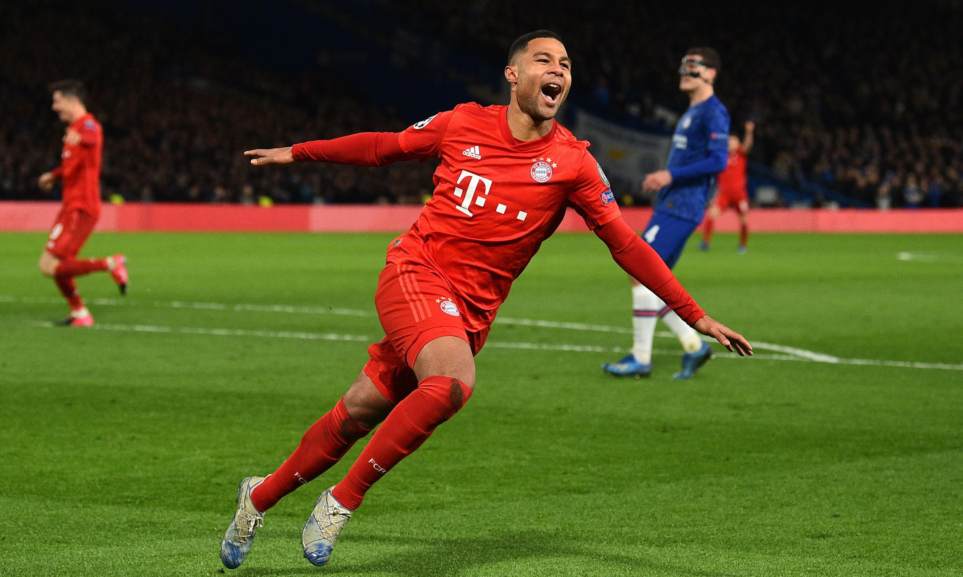 Bayern Munich and Gnabry drive Chelsea towards Champions League exit