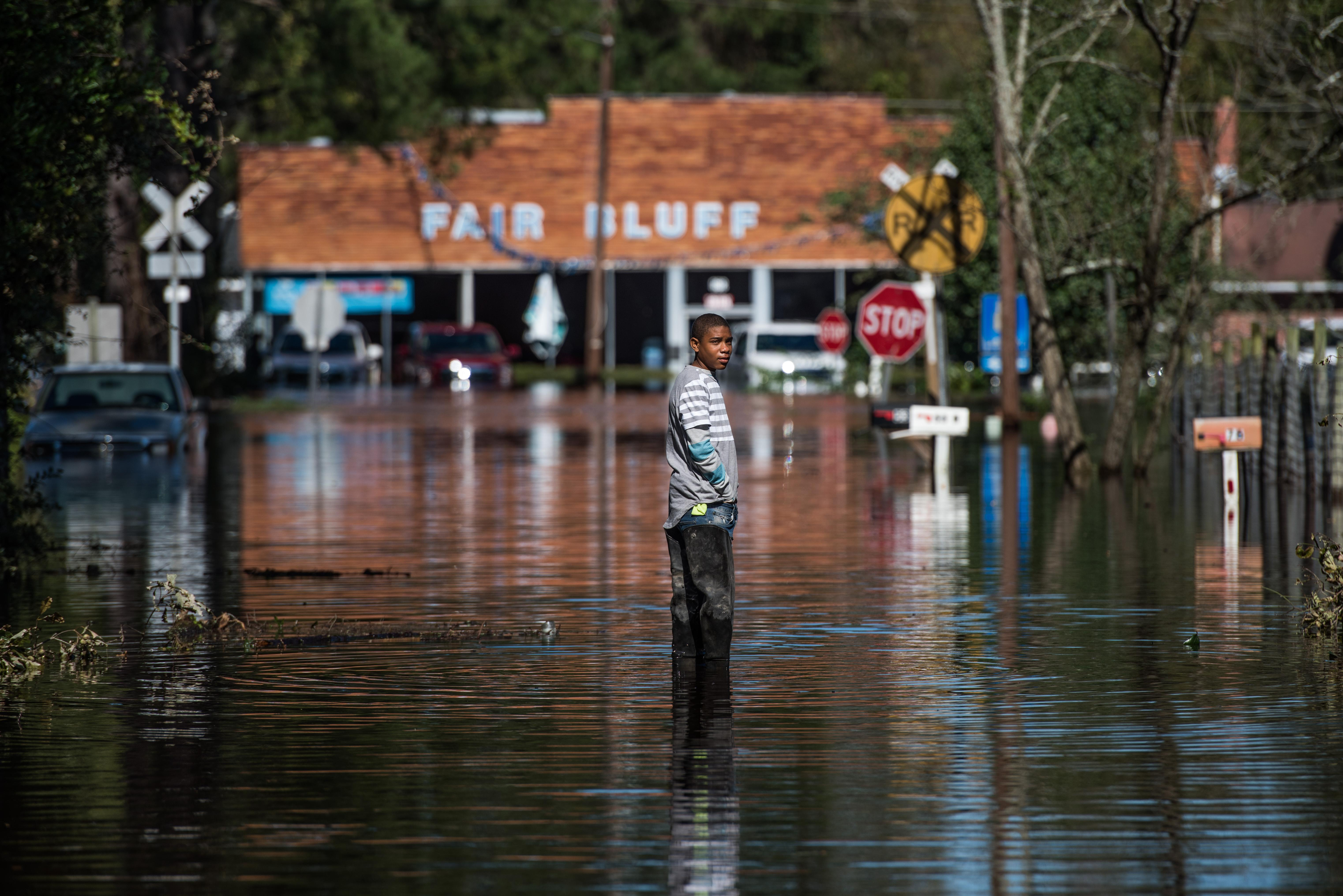 The town fighting the climate crisis to stay afloat, one hurricane at at time
