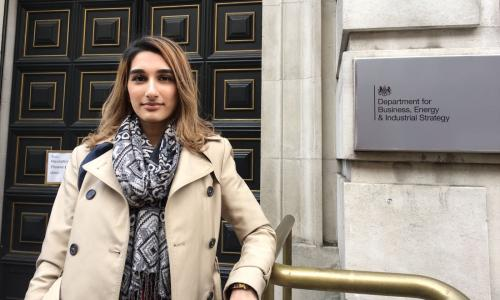 'It's always so varied': an apprentice's view of joining the civil service