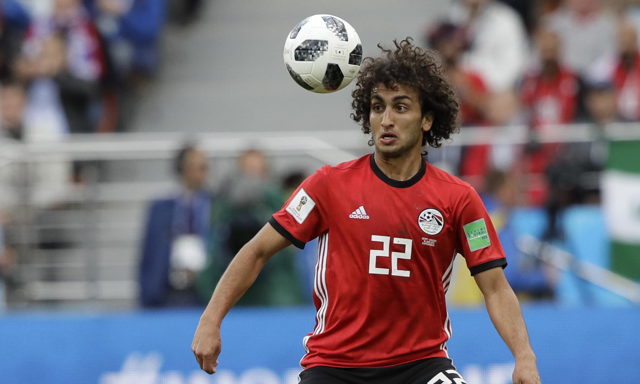 Amr Warda cut from Egypt Afcon squad following sexual harassment allegations