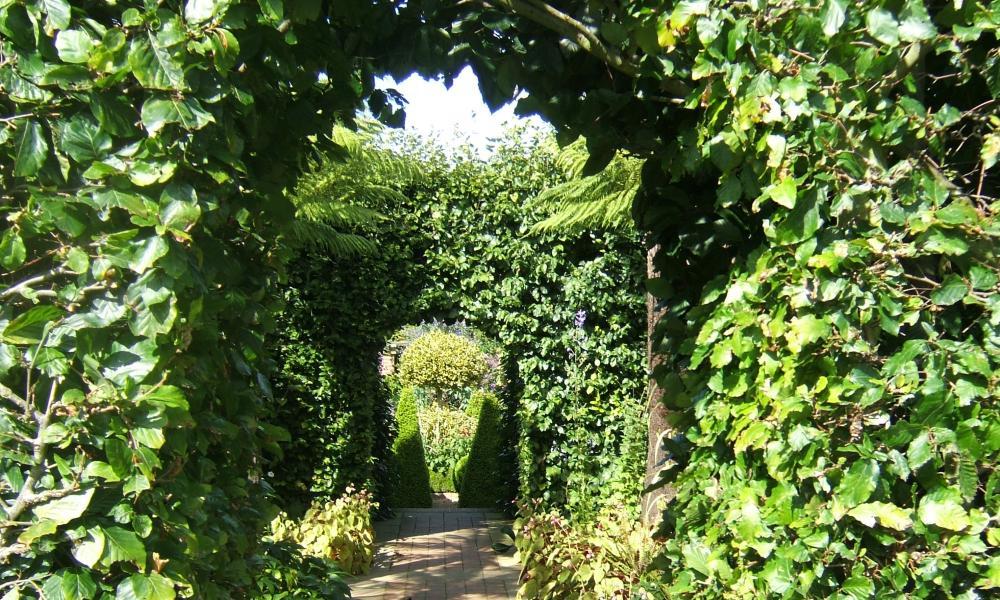 A garden archway