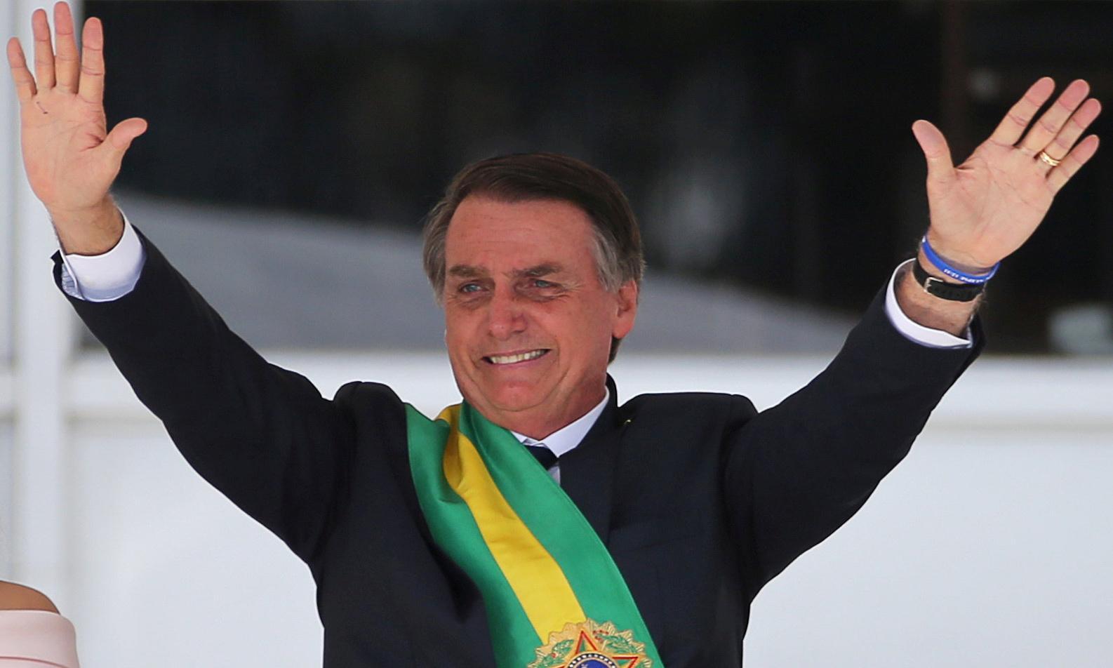 He's been president a week – and already Bolsonaro is damaging Brazil