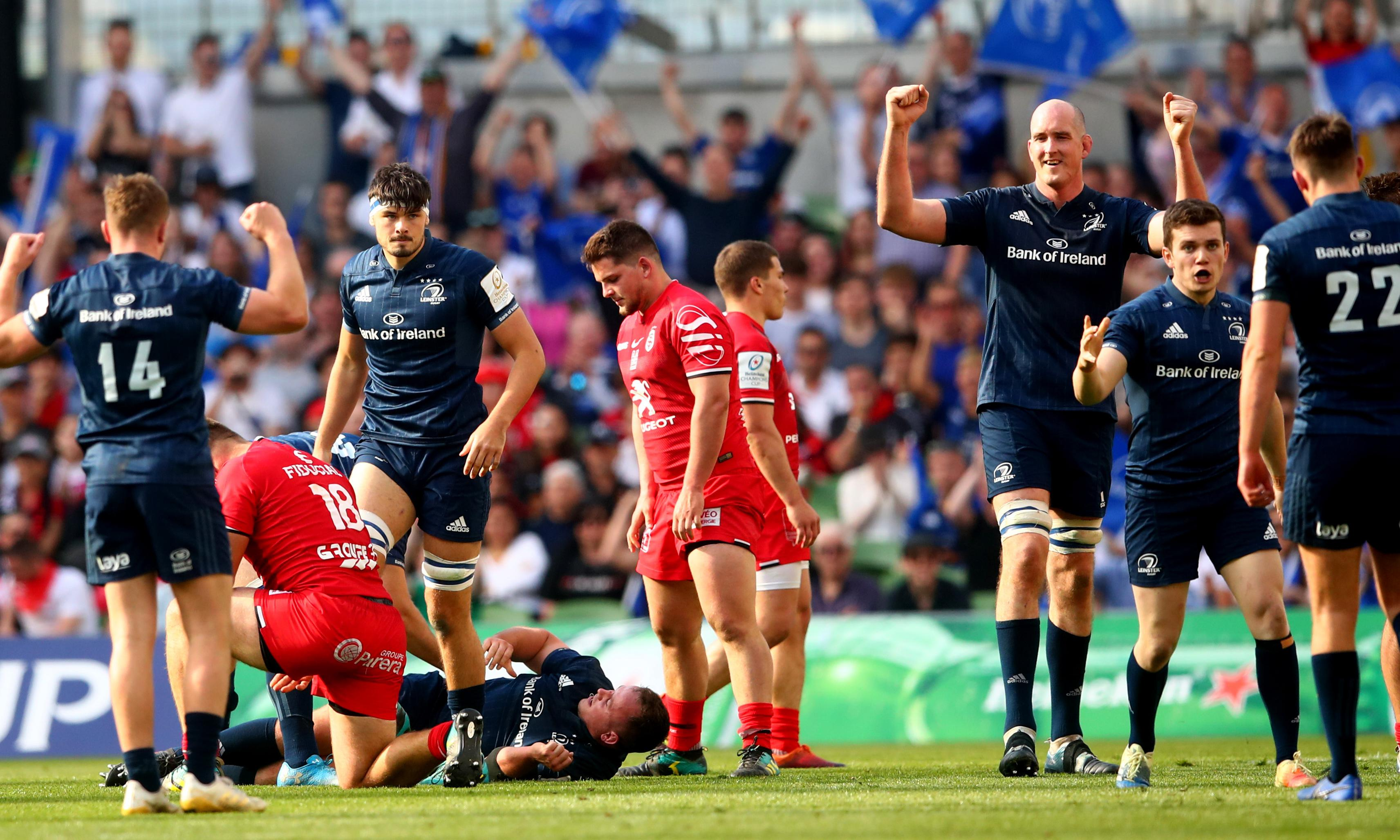 Leinster to face Saracens in Champions Cup final after suffocating Toulouse