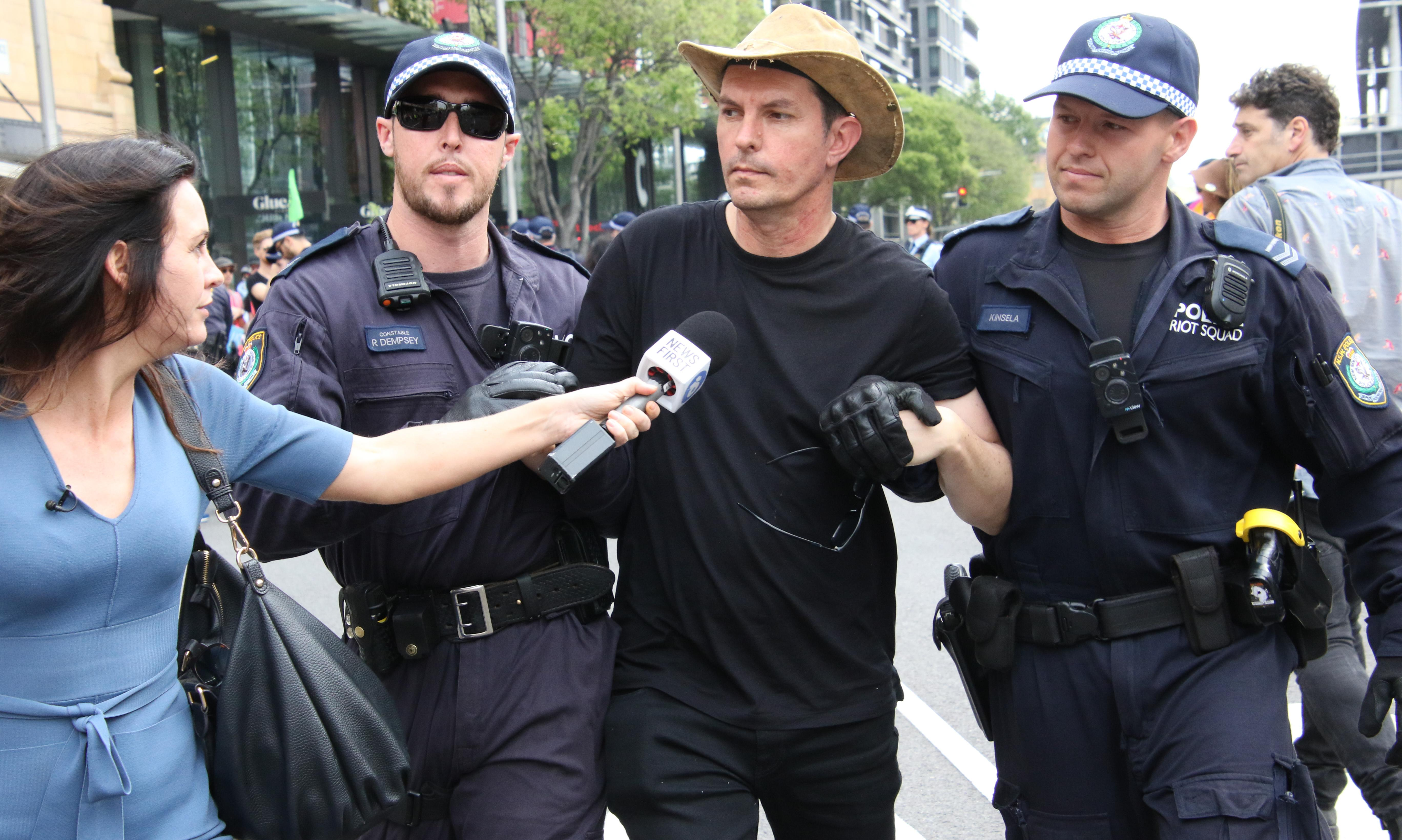 Extinction Rebellion: Scott Ludlam has 'absurd' bail conditions dismissed by judge