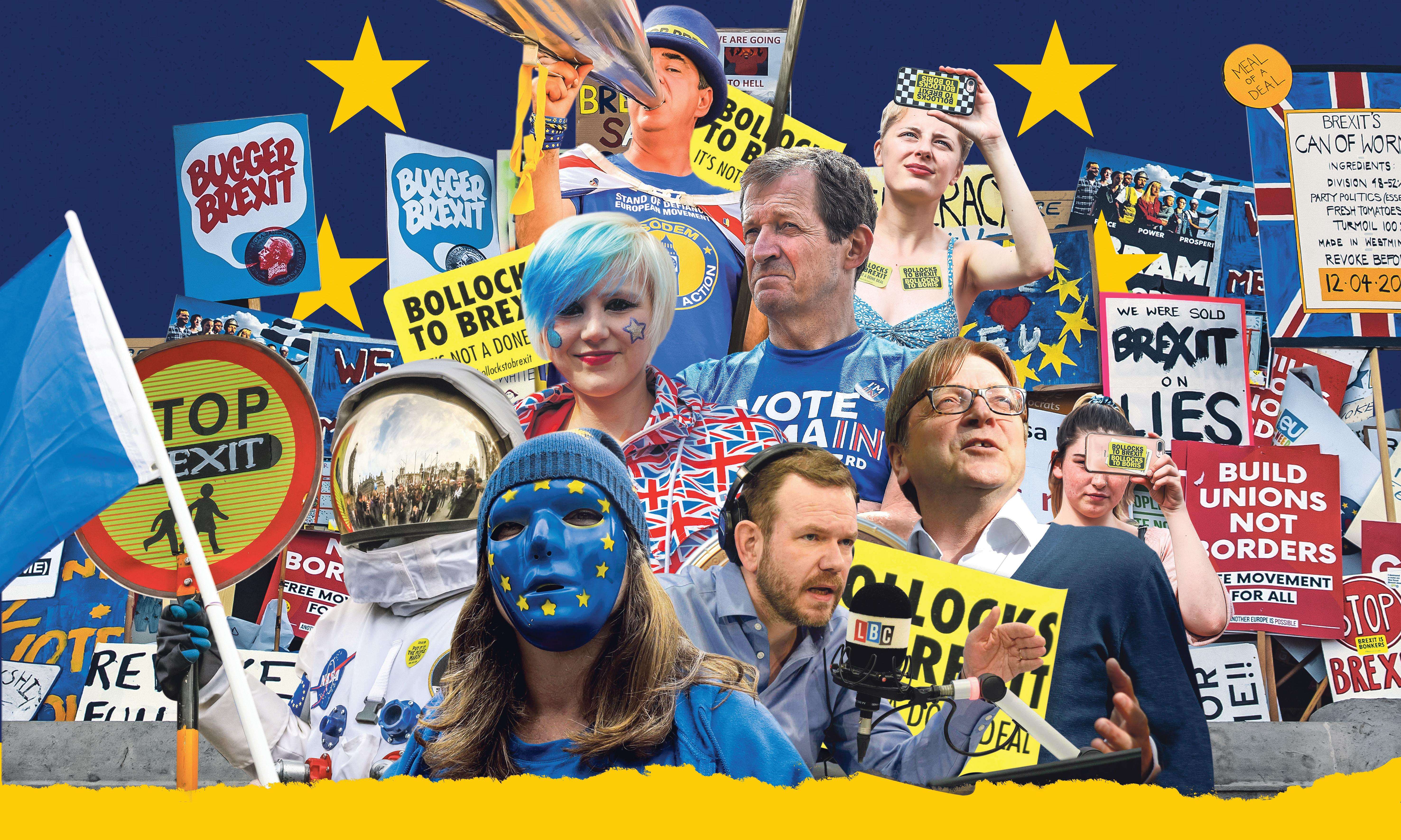 'Loud, obsessive, tribal': the radicalisation of remain