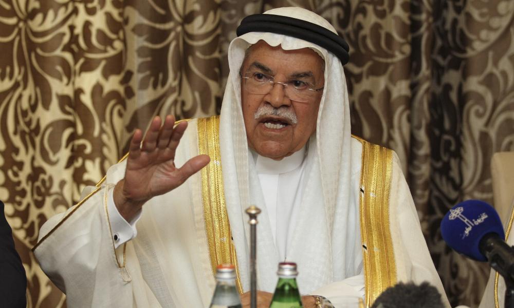 Saudi Arabia's Oil Minister Ali al-Naimi in Doha last week.