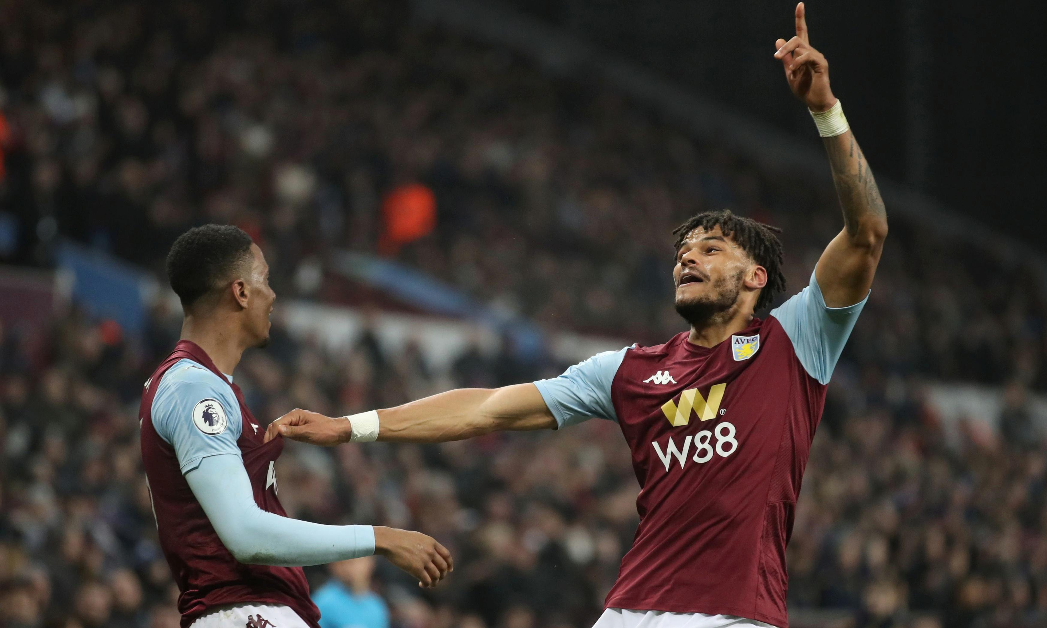 Aston Villa haul themselves out of bottom three with late win over Watford