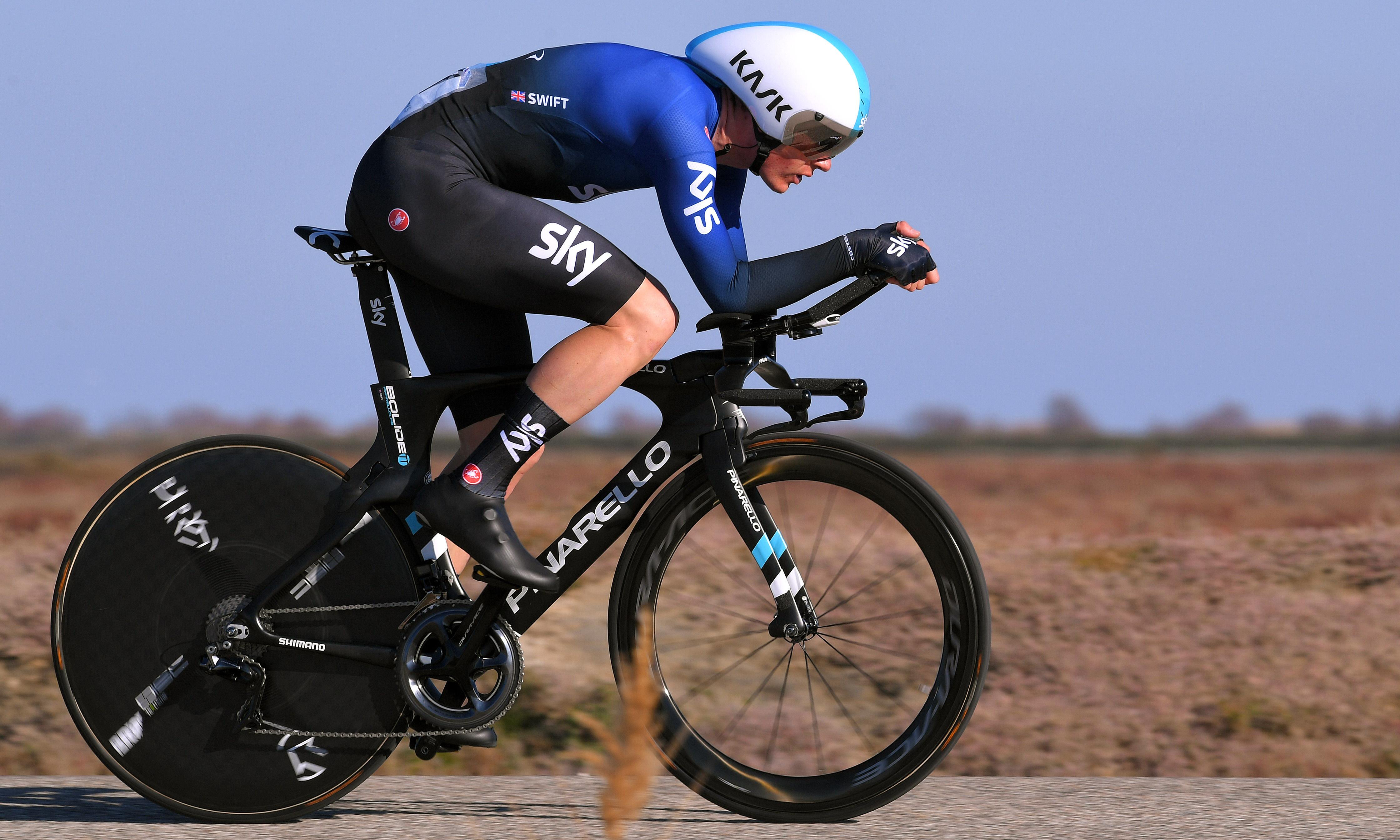 Team Sky's Ben Swift recovering in intensive care after training crash