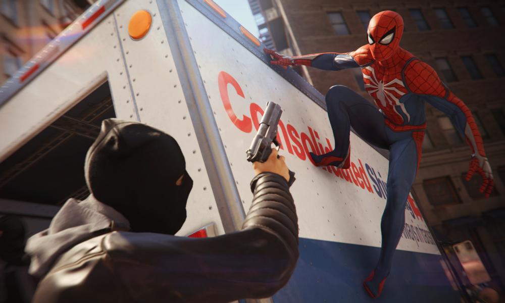 Web master ... Marvel's Spider-Man.
