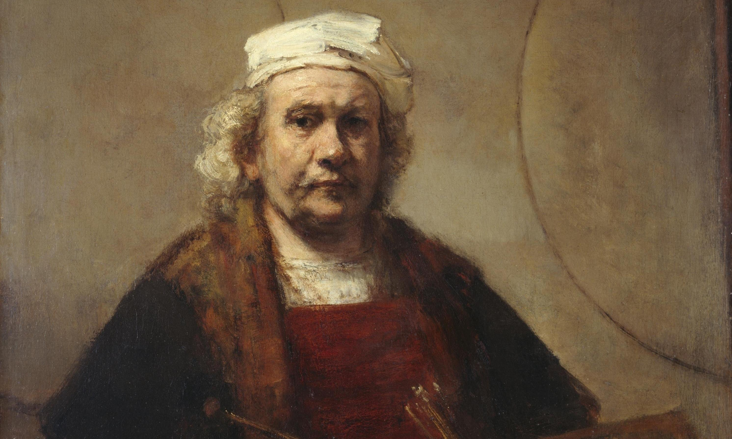 Visions of the Self: Rembrandt and Now review – the master upstages everyone