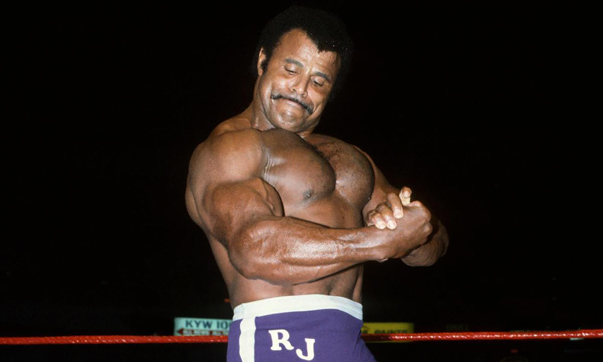 Wrestler Rocky Johnson, father of actor the Rock, dies
