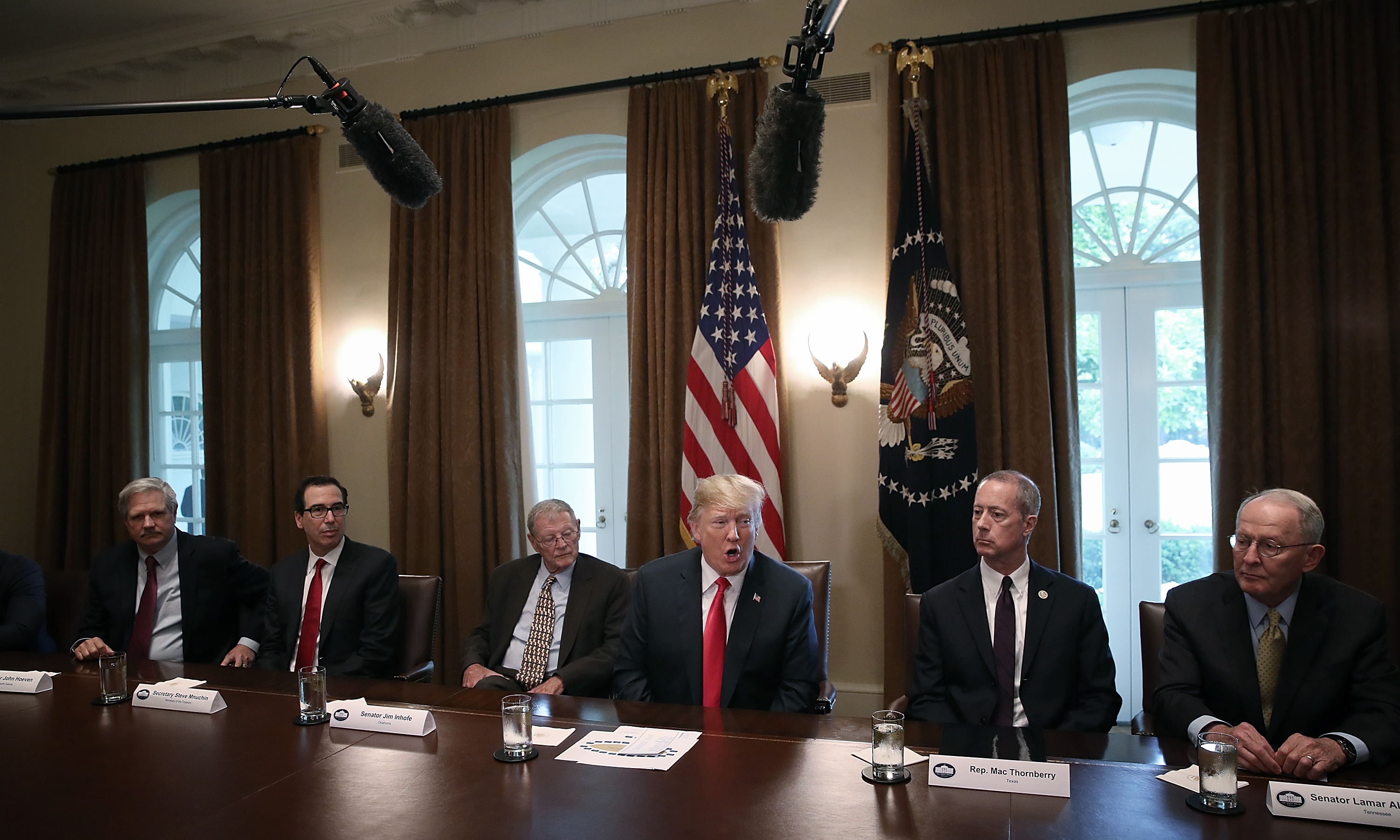 Live Trump Ends His Policy Of Family Separations With Executive