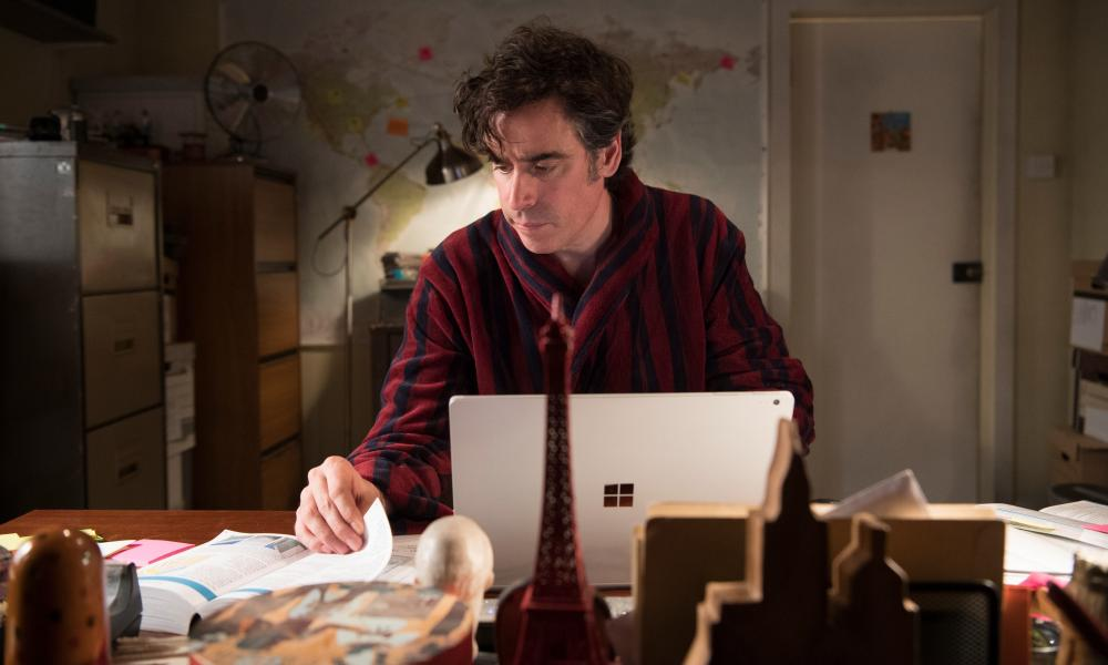 It's complicated … Stephen Mangan in Bliss, Sky1.