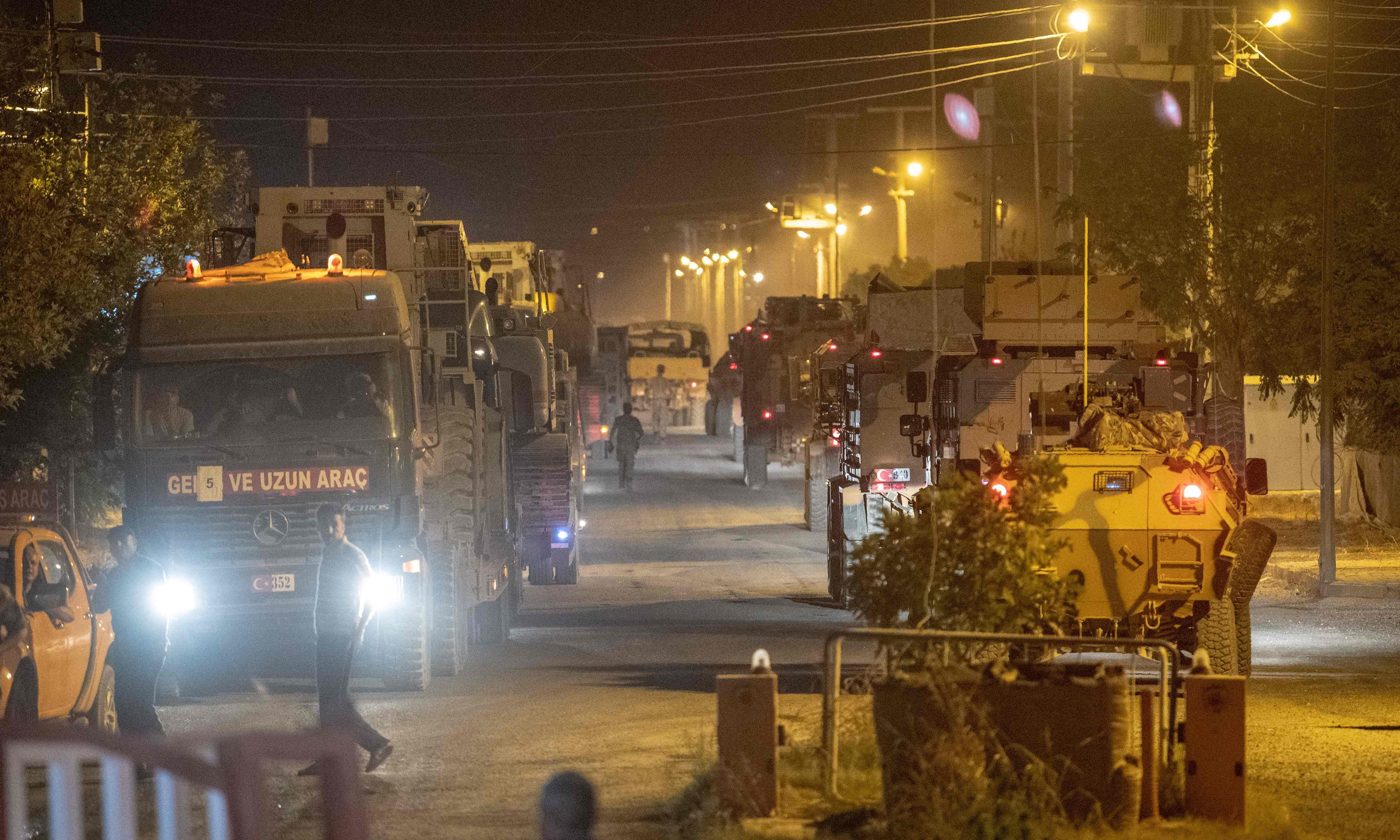 Turkey vows to press ahead with attack on Kurdish-led forces in Syria