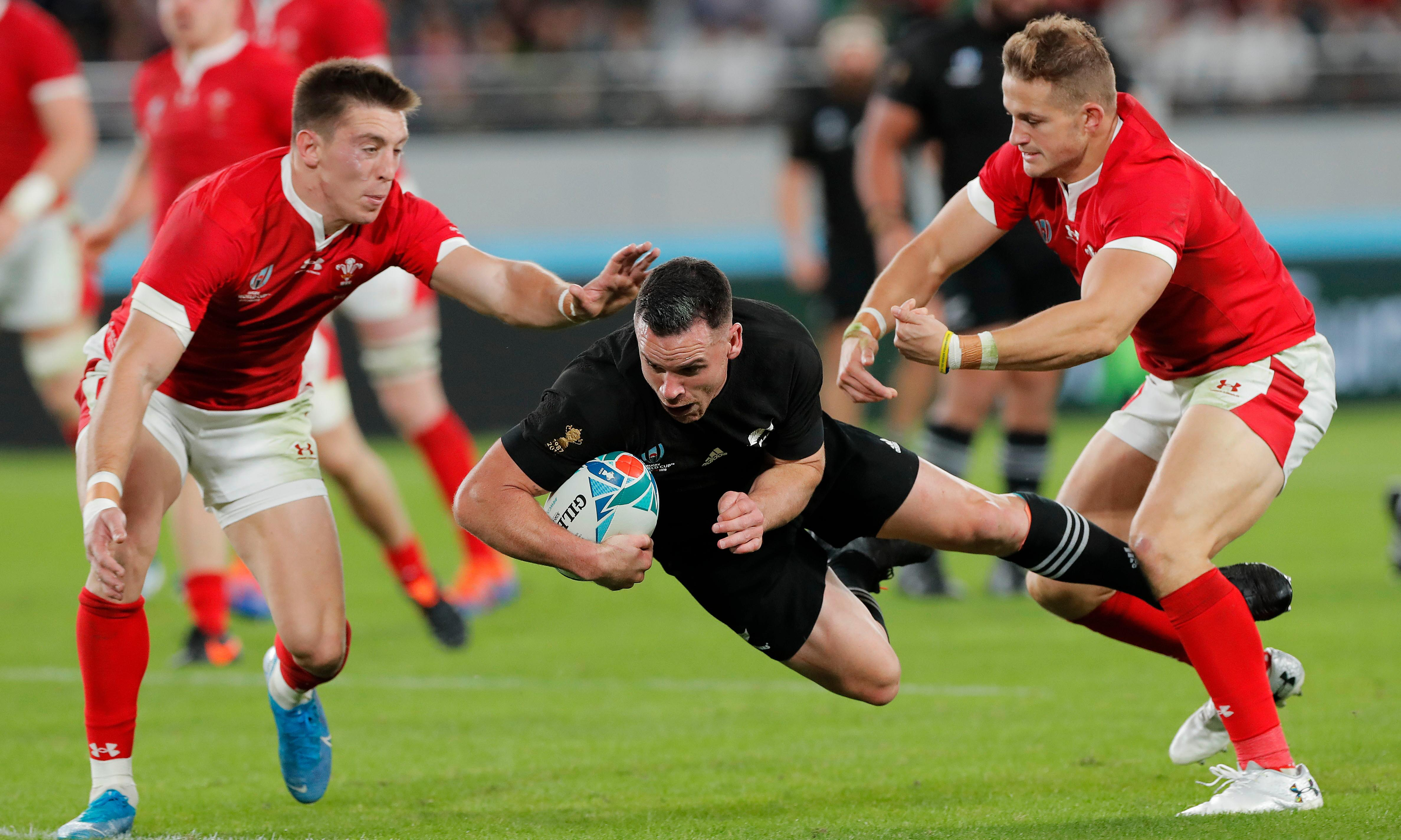 New Zealand swat Wales aside to win Rugby World Cup bronze final