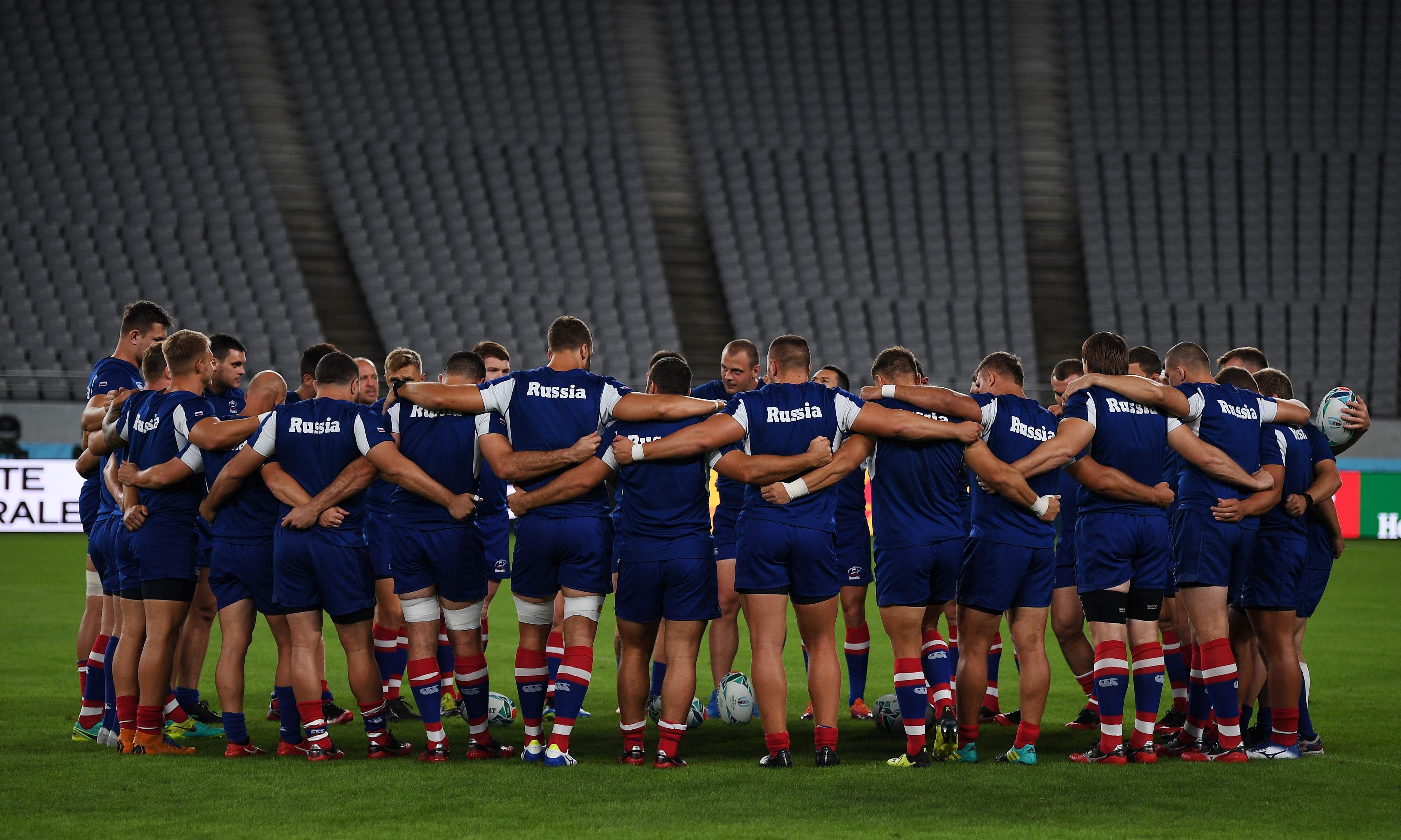 'The pressure is on Japan': Russia seek upset in Rugby World Cup opener