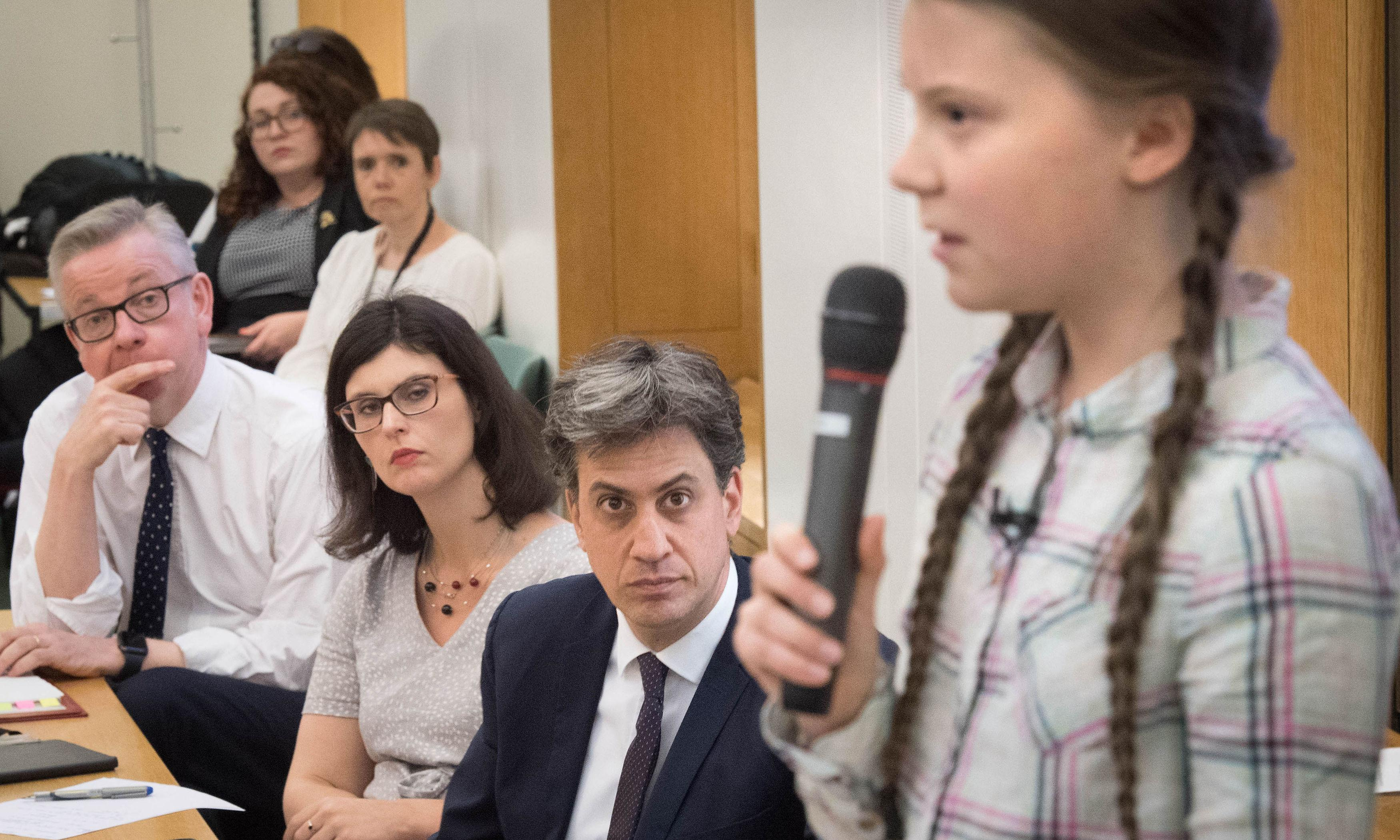 The Greta Thunberg effect: at last, MPs focus on climate change