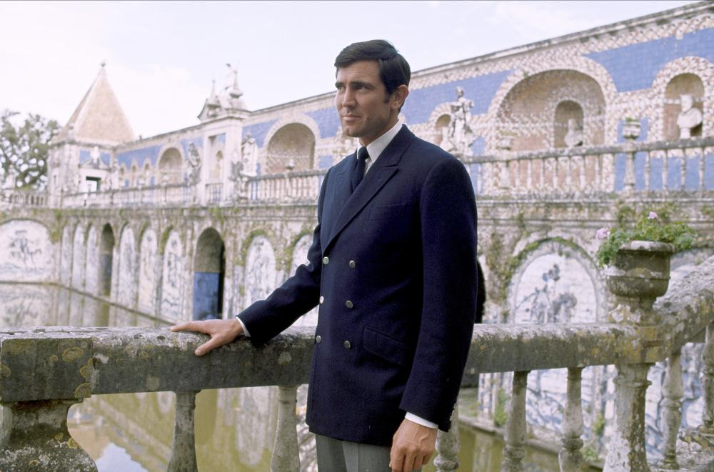 George Lazenby, On her Majesty's Secret Service, 1969.
