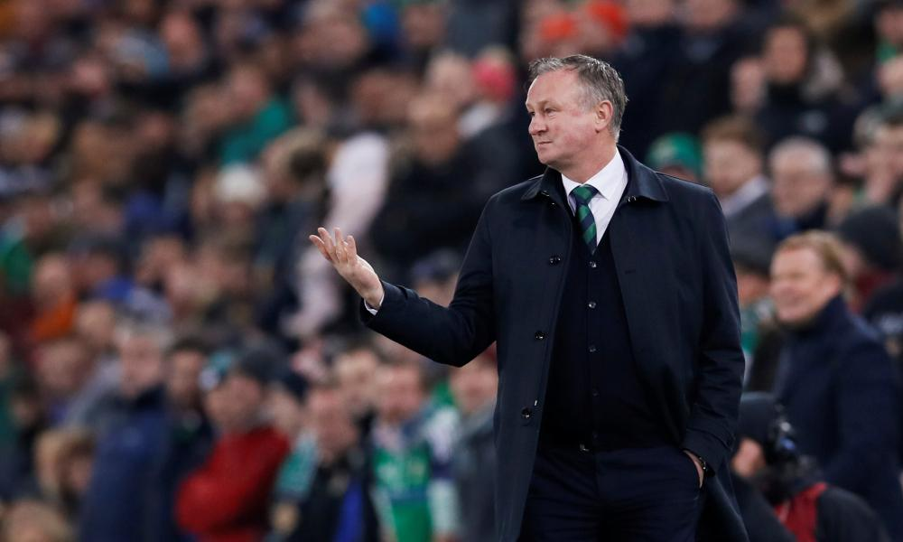 Michael O'Neill wants his players to keep pushing.