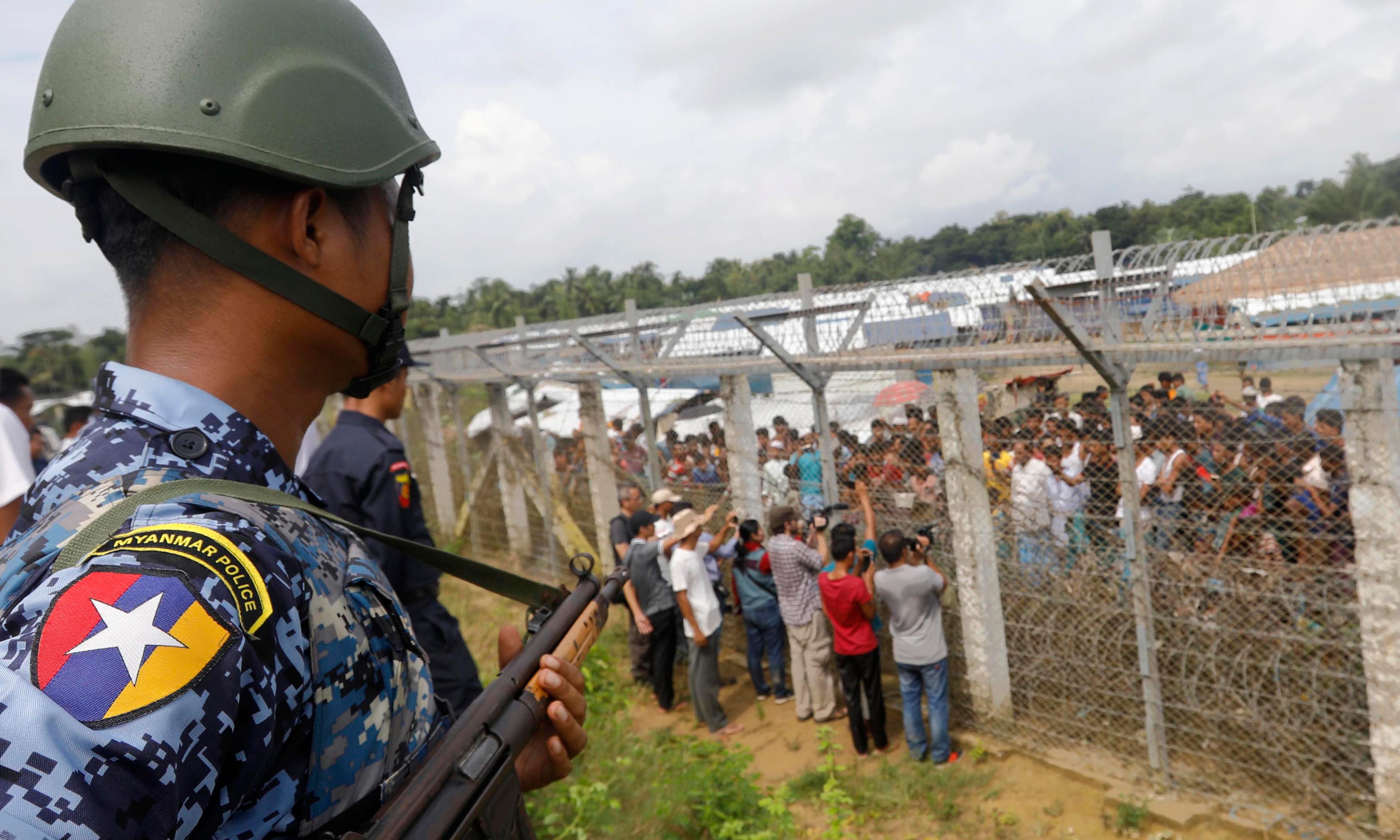 'Tied to trees and raped': UN report details Rohingya horrors