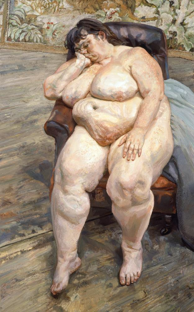 Lucian Freud's work is part of All Too Human at Tate Britain.
