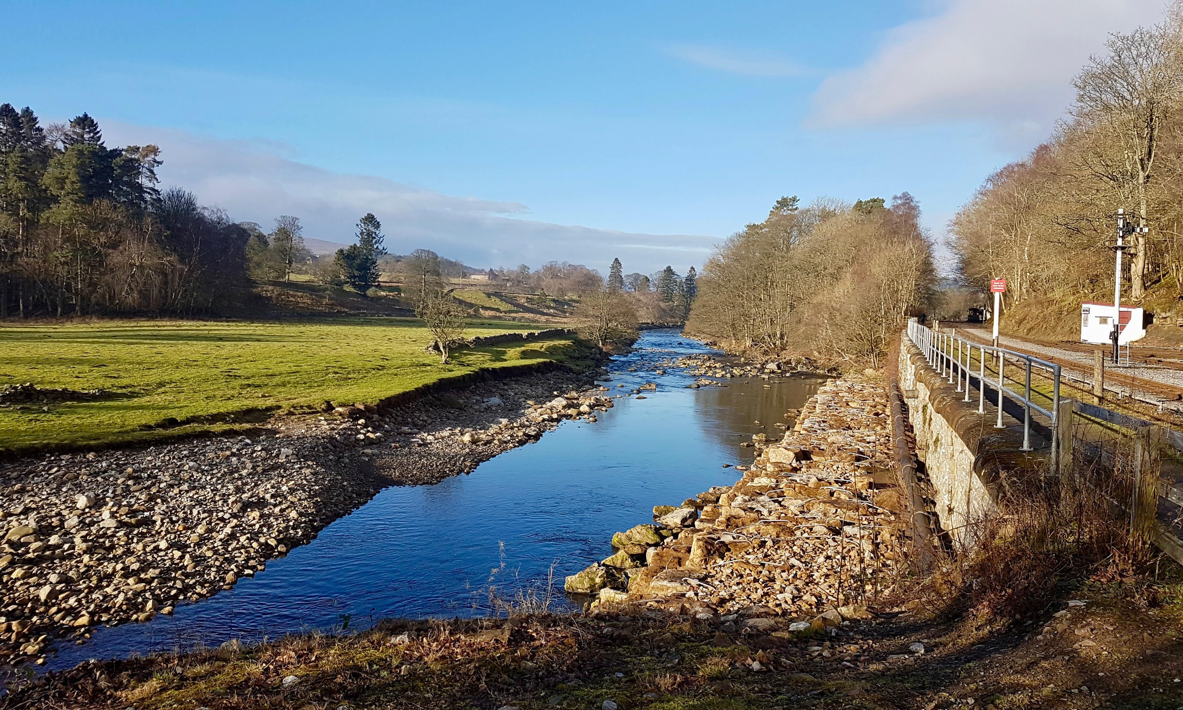 Country diary: a midwinter walk along the South Tyne trail