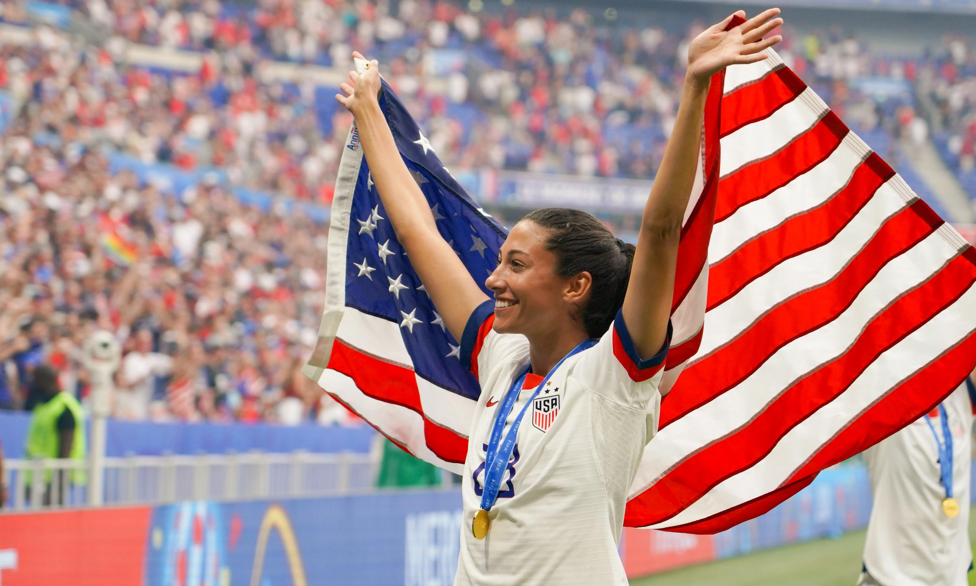 Christen Press responds to criticism over partnership with Barstool Sports