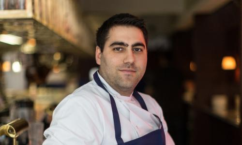 Tomer Amedi, head chef at The Palomar.