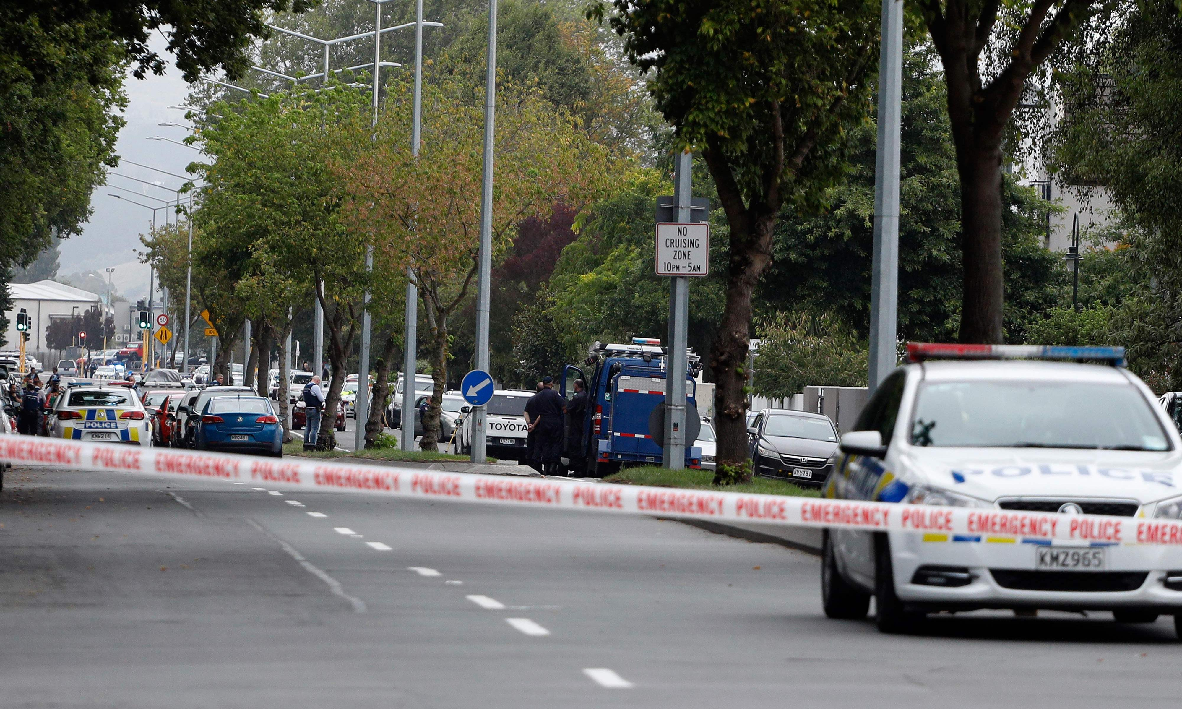 Video of Christchurch attack runs on social media and news sites