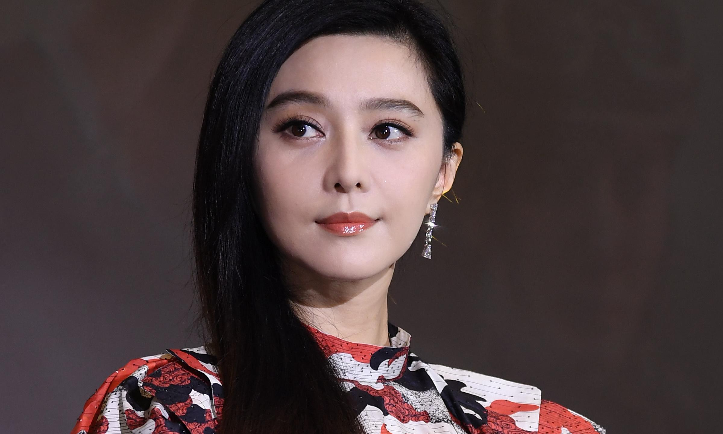 Chinese star Fan Bingbing reappears after nearly a year in wilderness