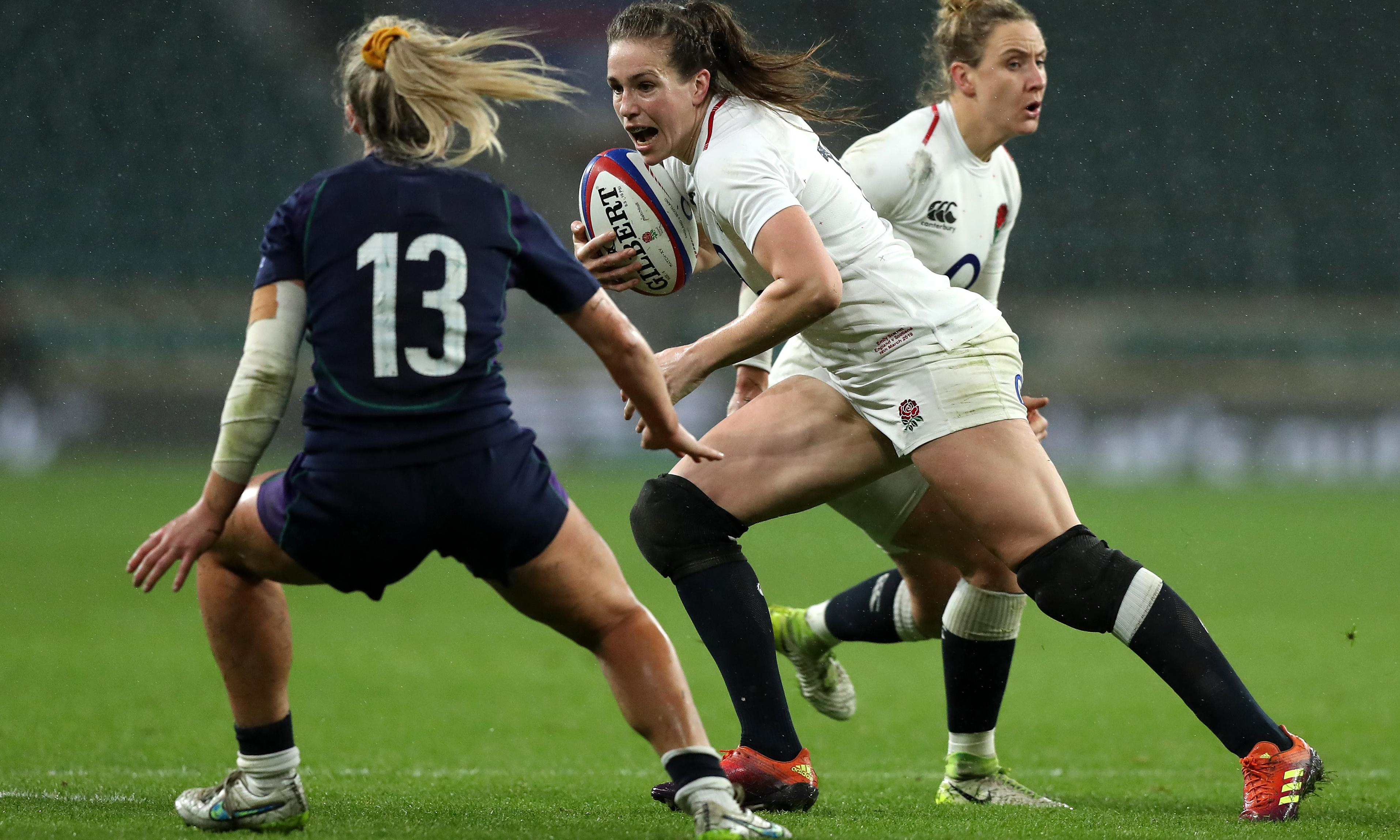 Emily Scarratt focuses on France after whirlwind week and world award
