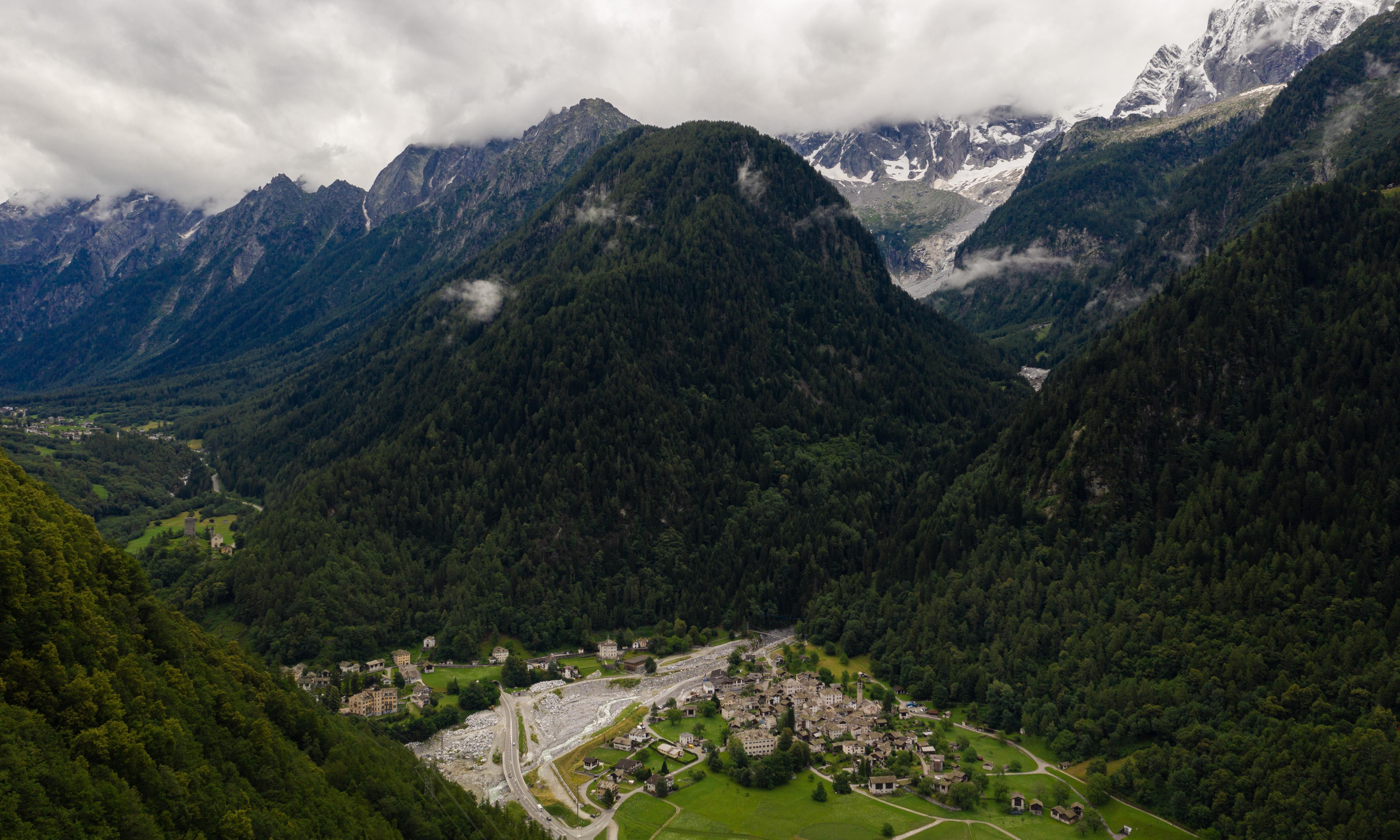 'Things are getting unstable': global heating and the rise of rockfalls in Swiss Alps