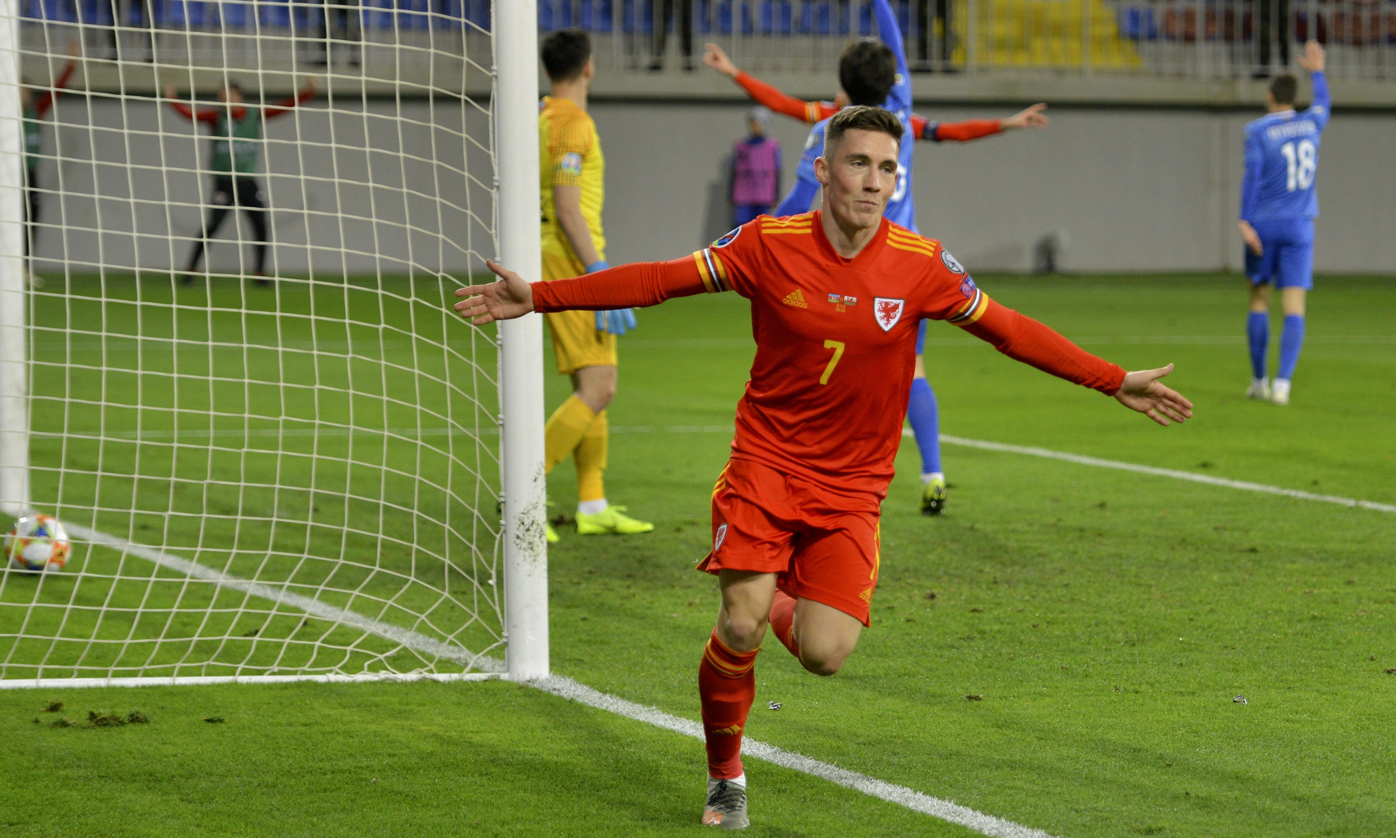 Harry Wilson seals win over Azerbaijan to keep Wales in Euro 2020 hunt