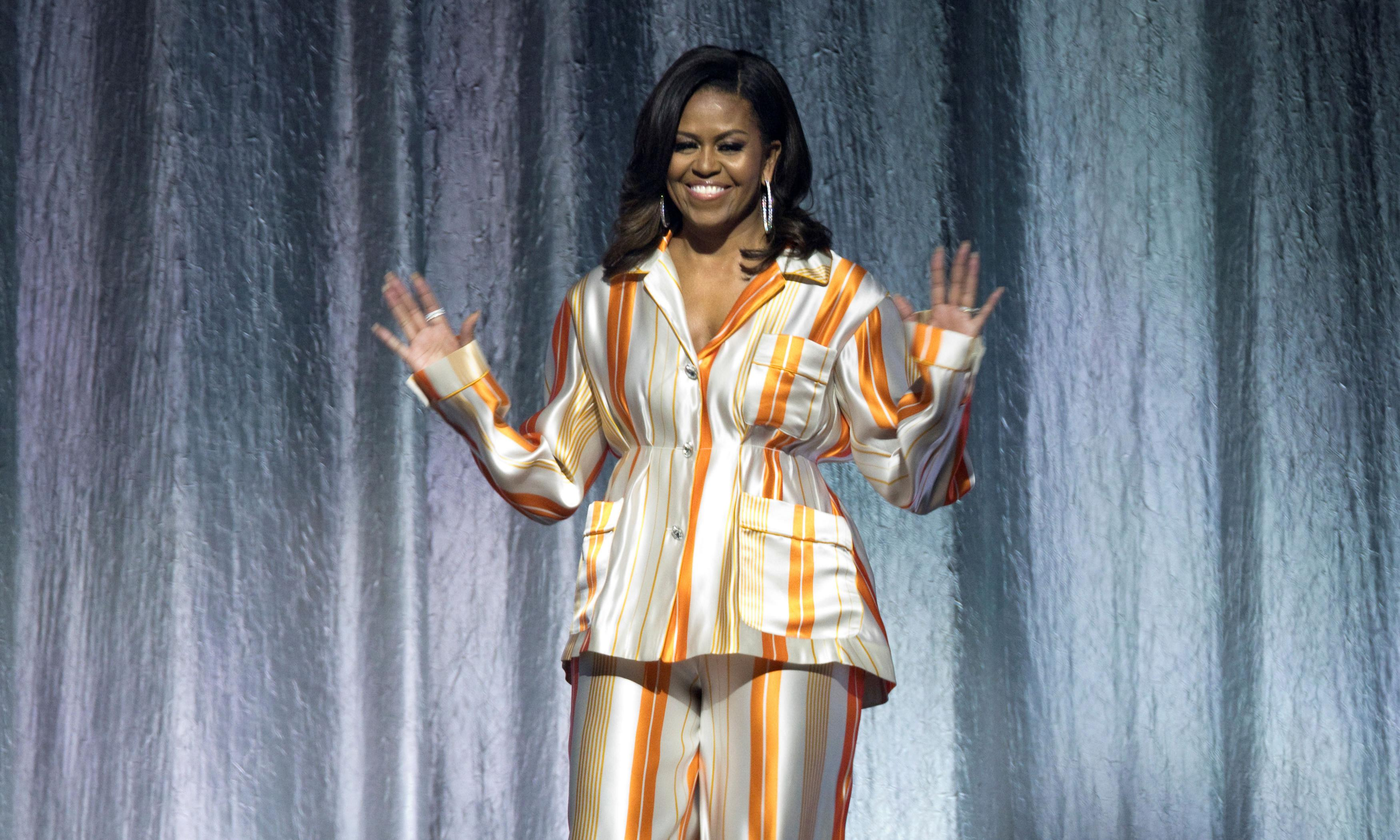 The fashion diplomat: what Michelle Obama wore on her book tour