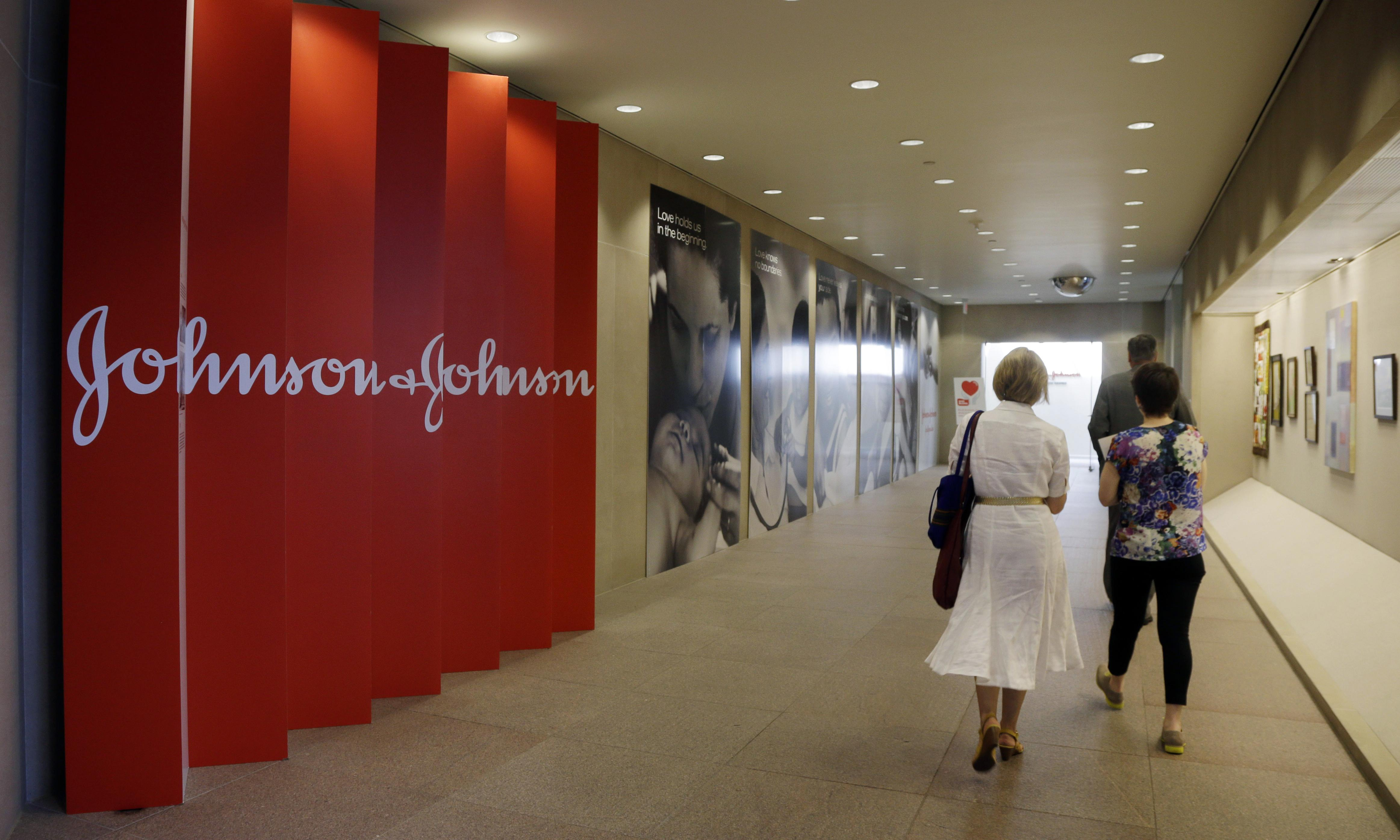 Johnson & Johnson ordered to pay $8bn to man who 'developed female breast tissue'