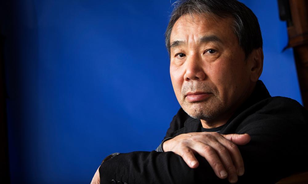The novelist Haruki Murakami