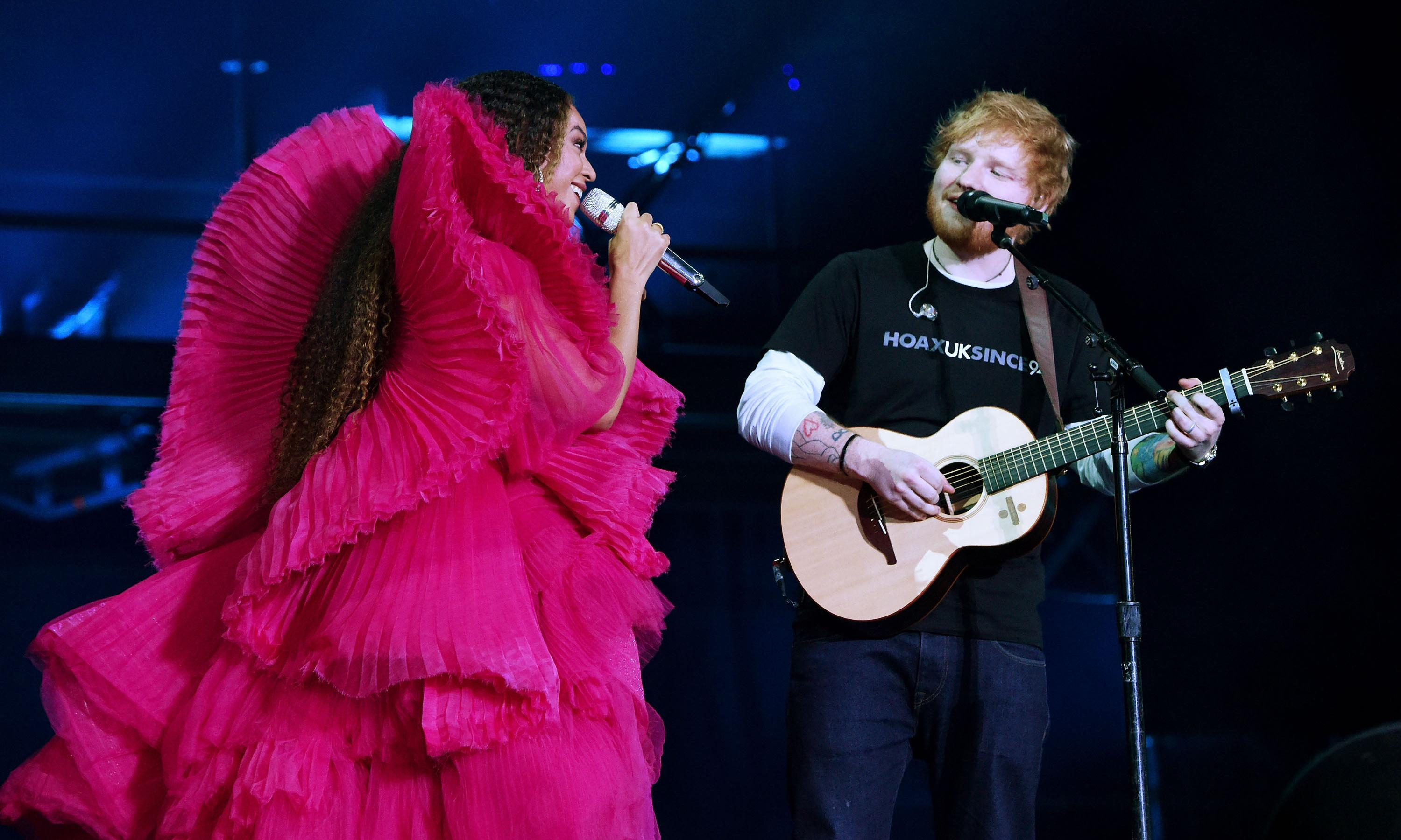 Beyoncé, Ed Sheeran and our expectations of men and women